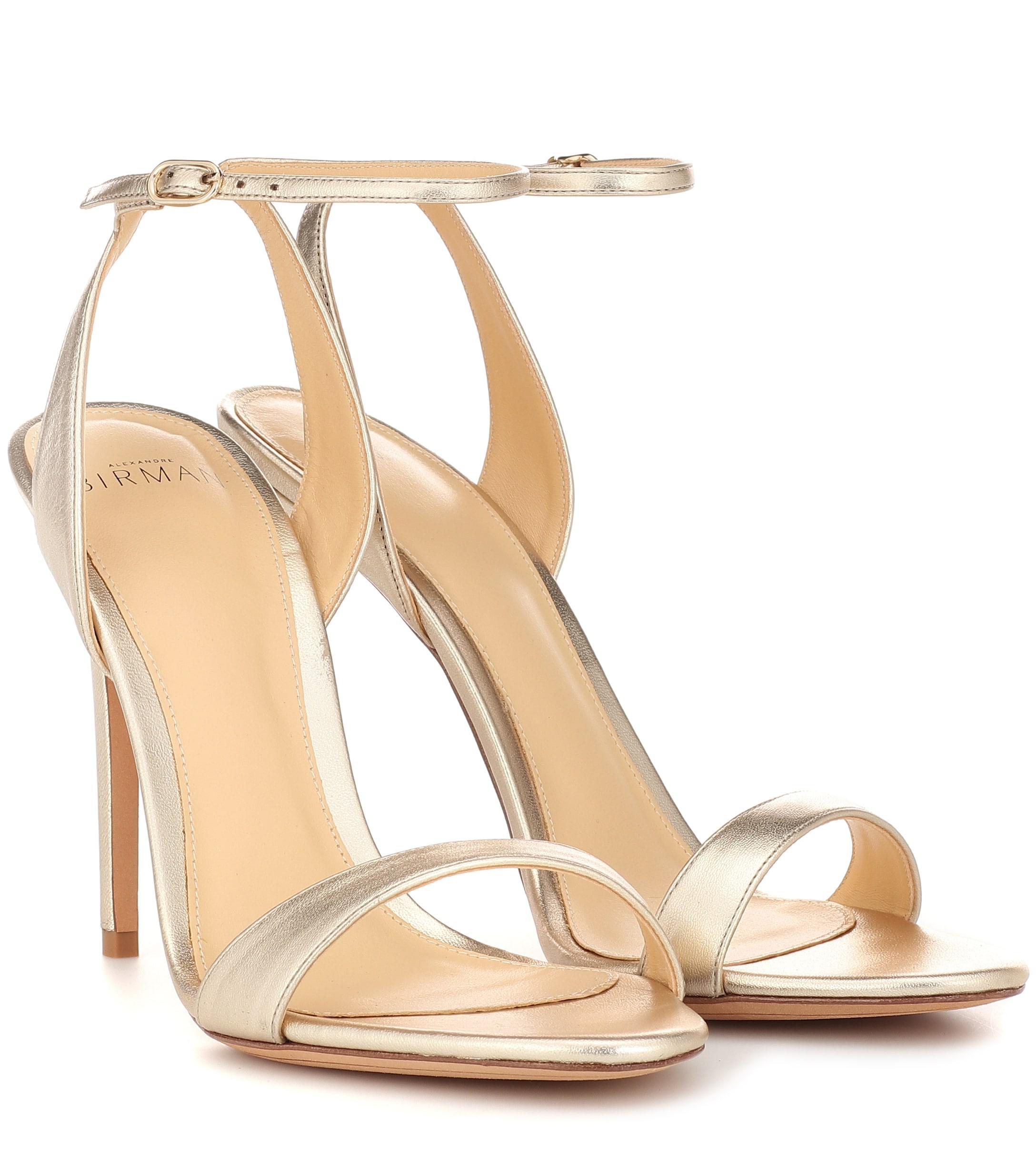 Alexandre Birman Santine 100 Leather Sandals - Lyst