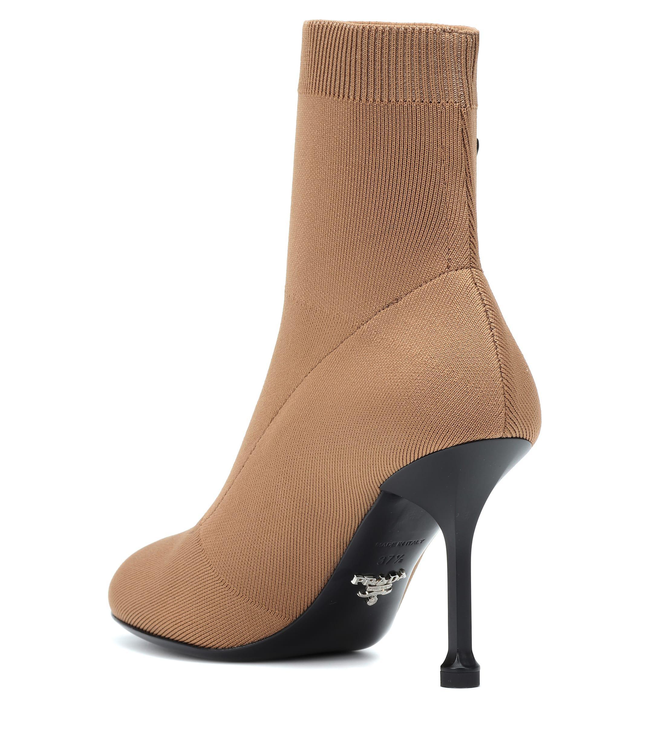 wholesale dealer 2c7d7 336fa Stretch Strick Braun Aus Damen In Ankle Boots c4jL5ARS3q