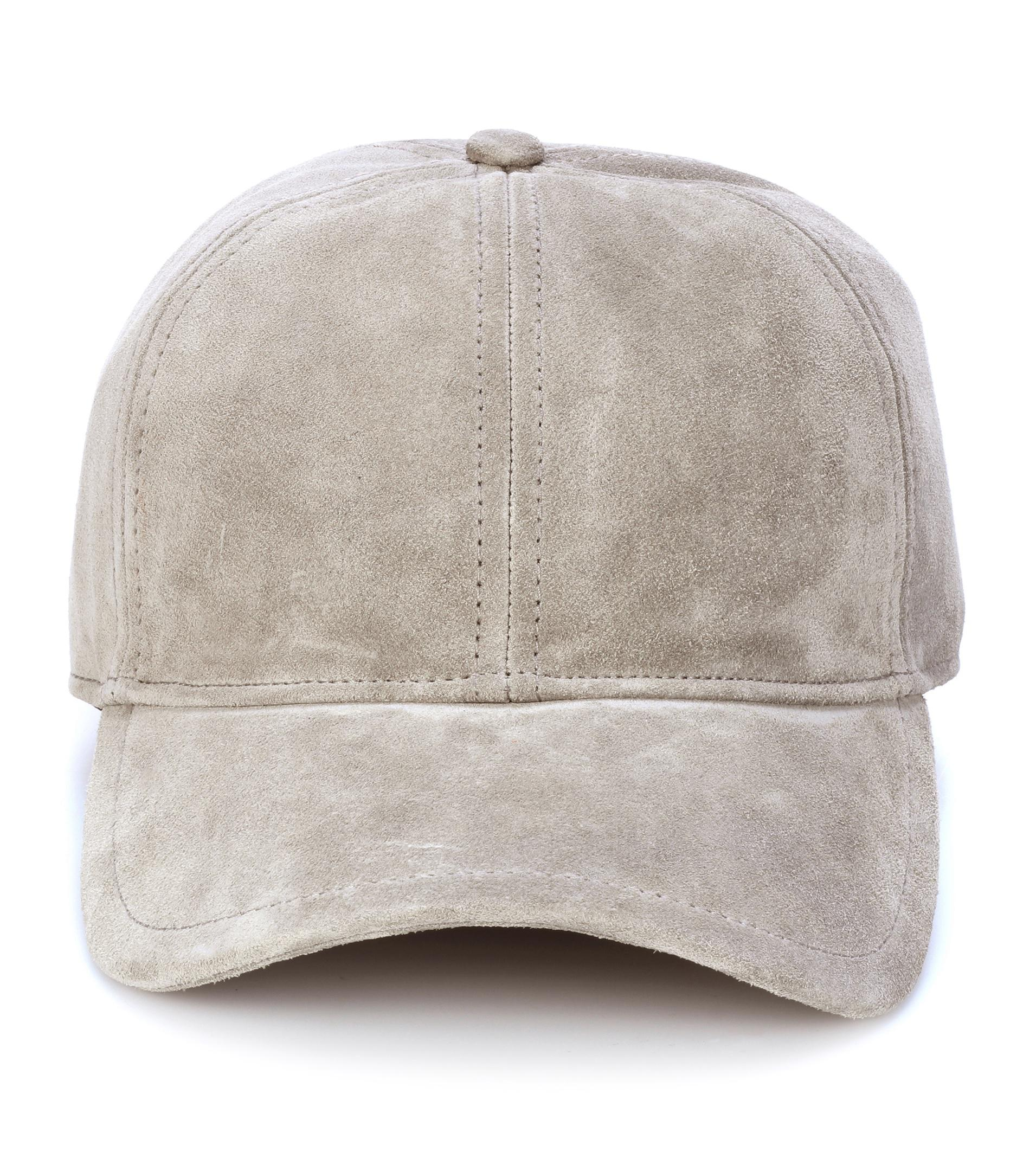 Rag   Bone Suede Cap in Gray - Lyst 0db7e1b7d8f