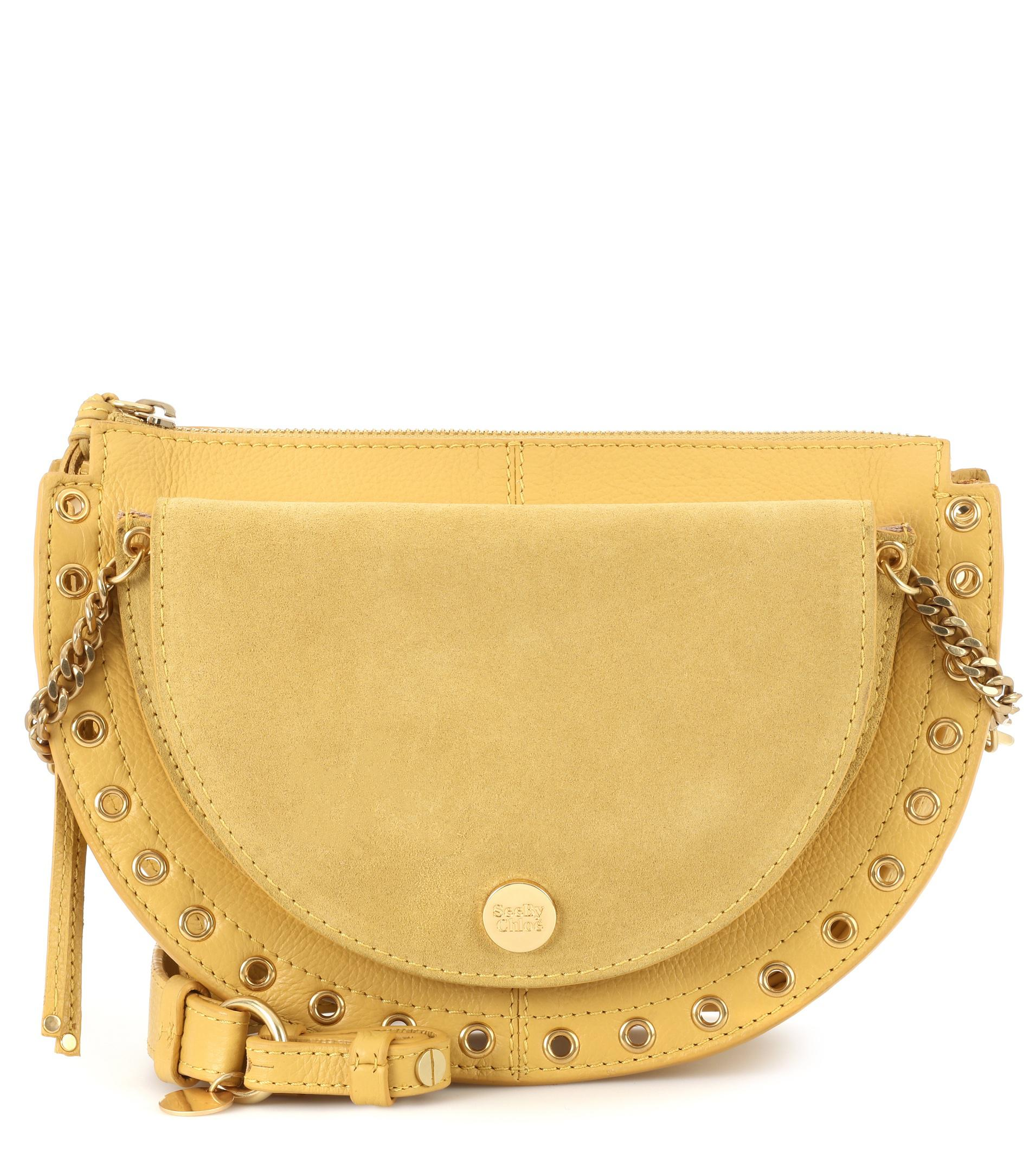 Bag Shoulder Chloé Lyst Kriss In By Leather Medium See Yellow Bgyw0Cqvw 7f21c84979a