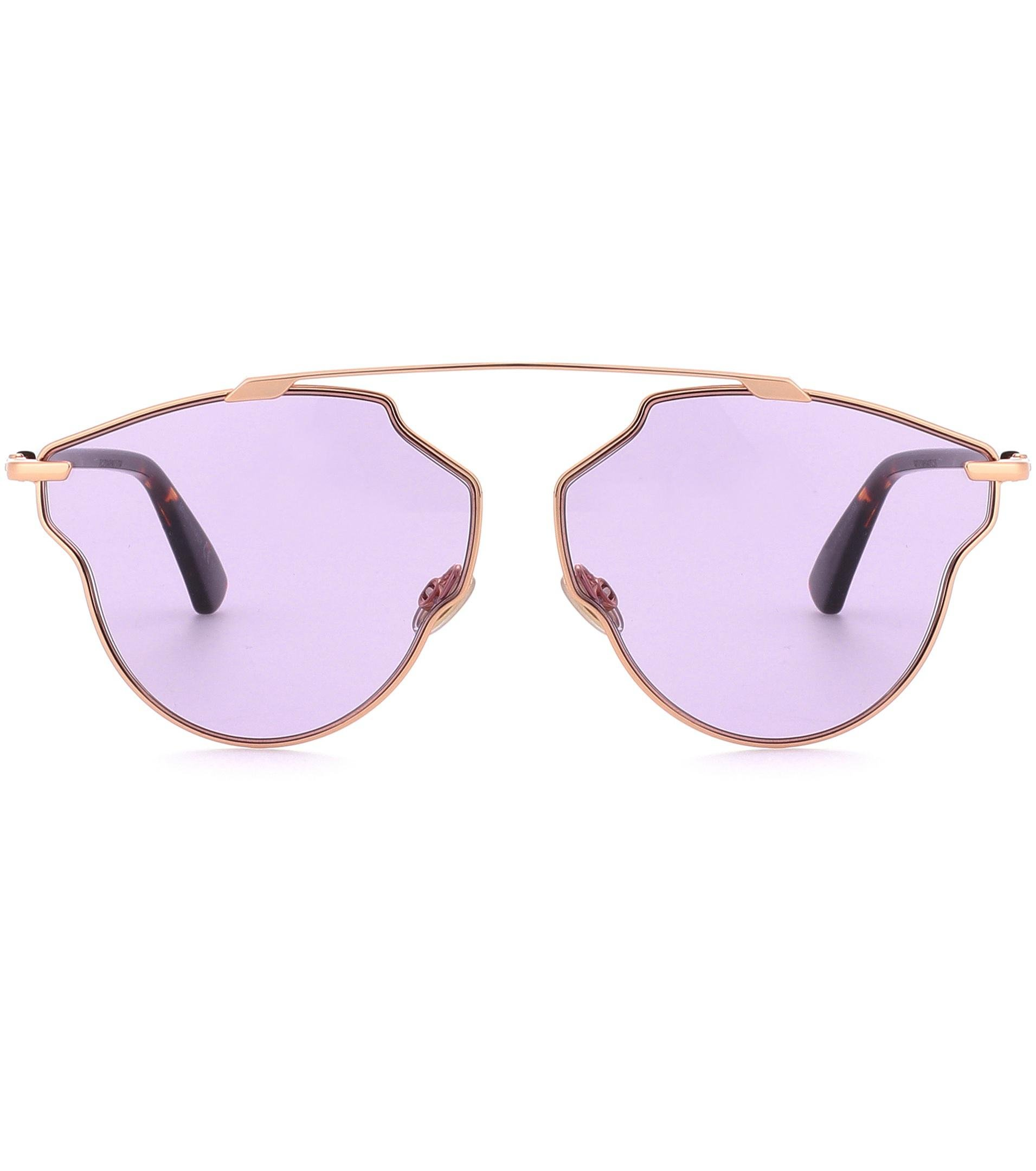 94f67a51b79 Gallery. Previously sold at  Mytheresa · Women s Dior So Real Women s  Oversized Square Sunglasses ...