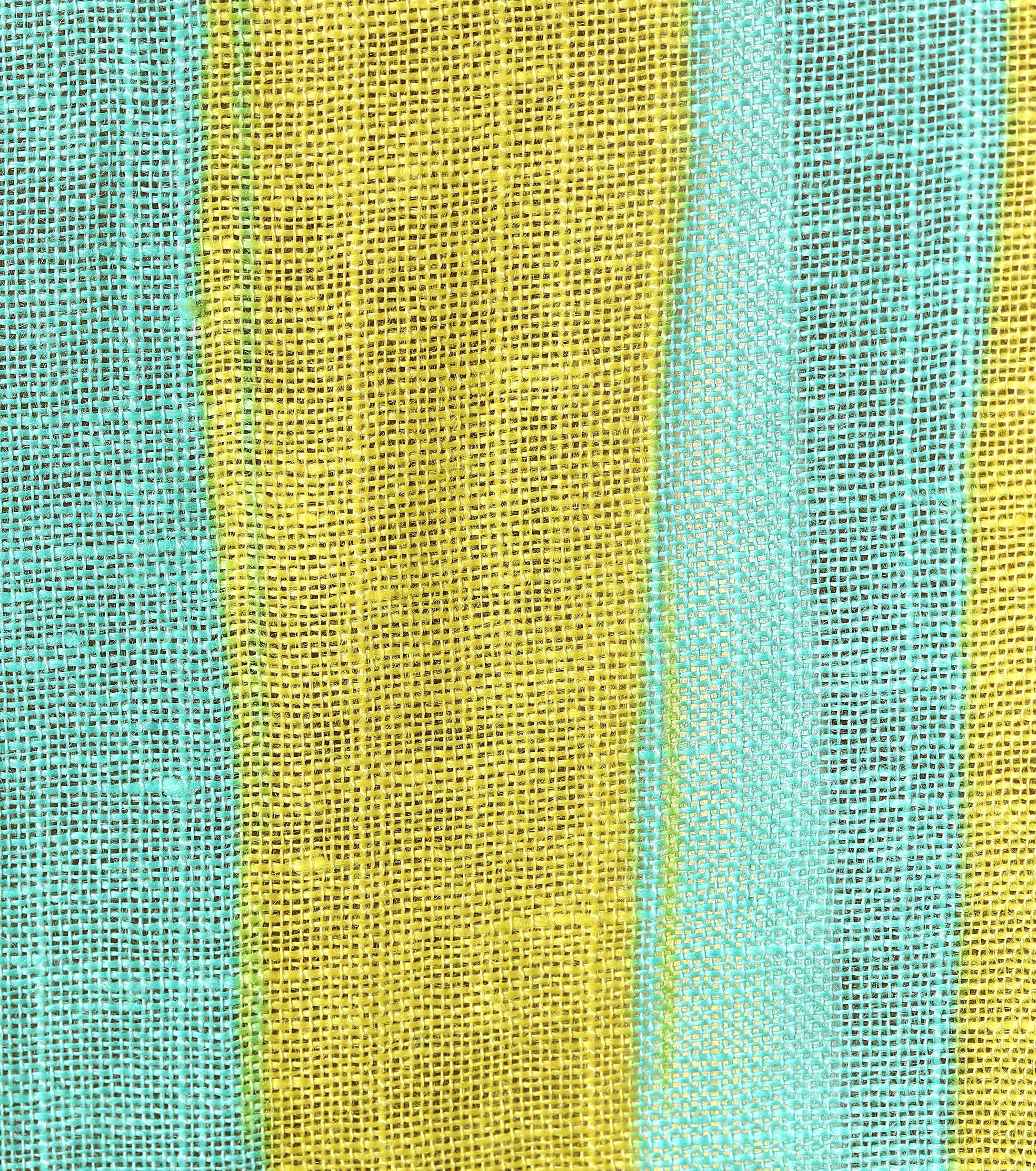 Bata en mezcla de lino rayada Diane von Furstenberg