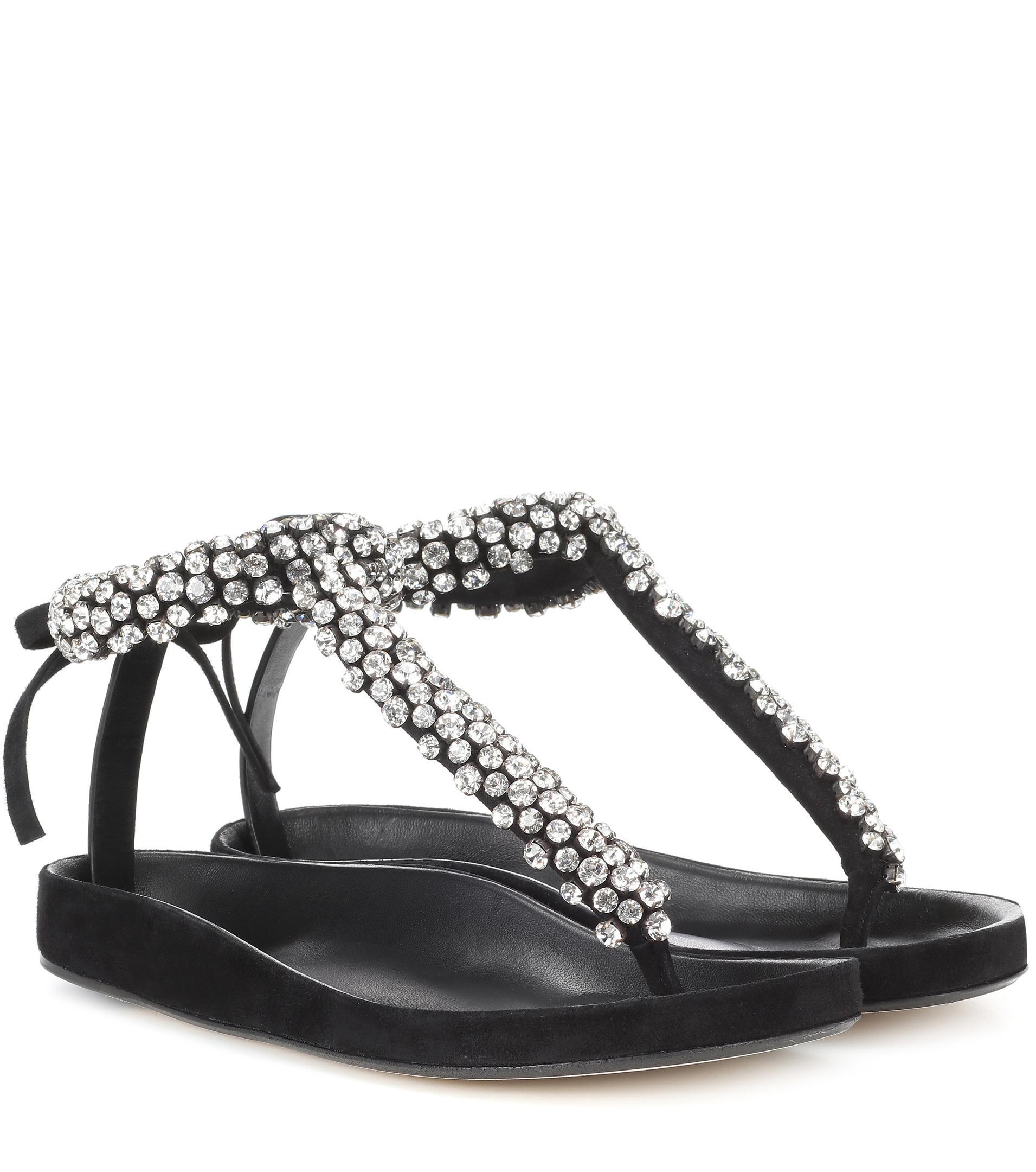 Isabel Marant Emita embellished leather sandals