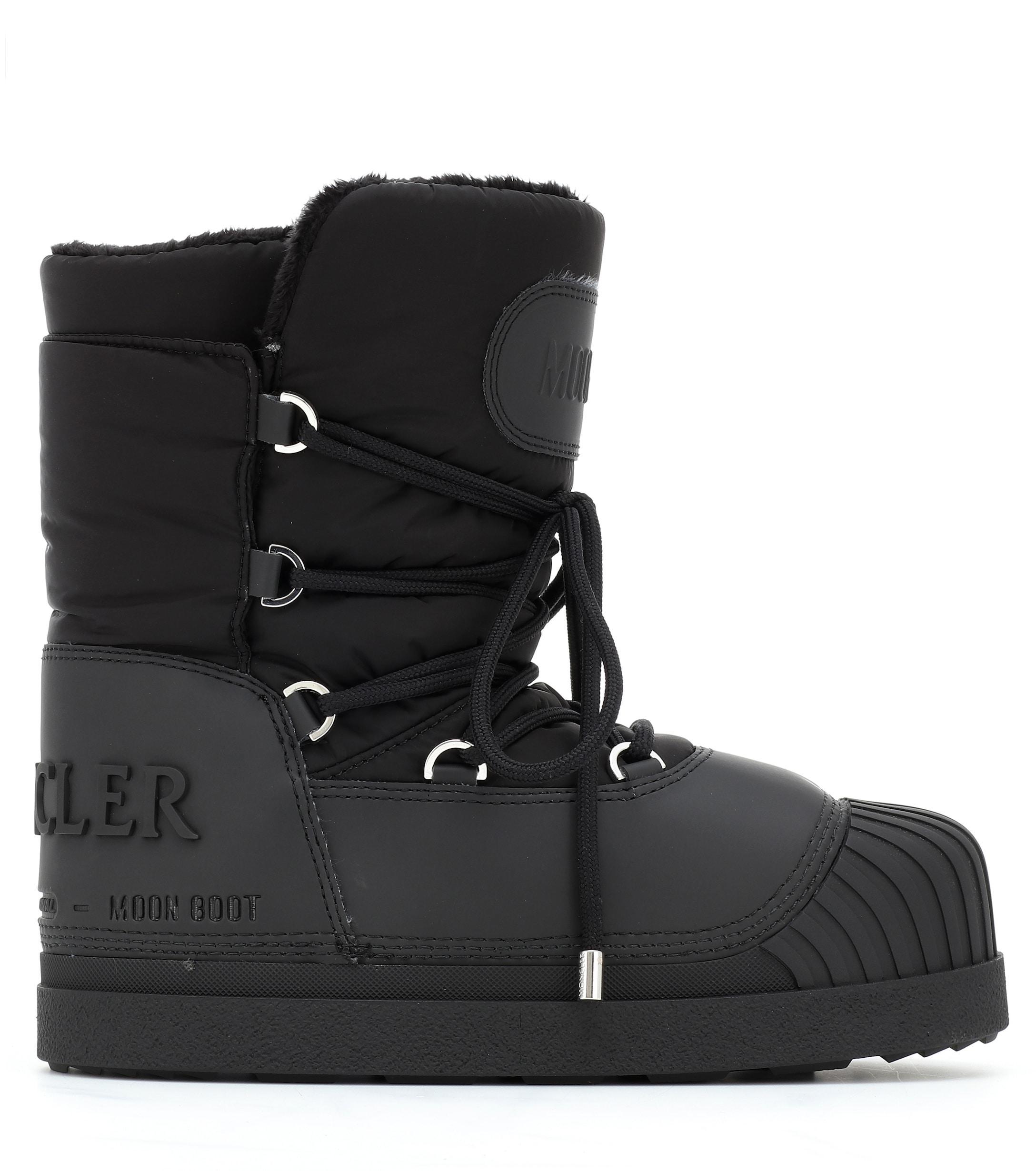 057784cf1 Women's Black X Moon Boot® Uranus Ankle Boots