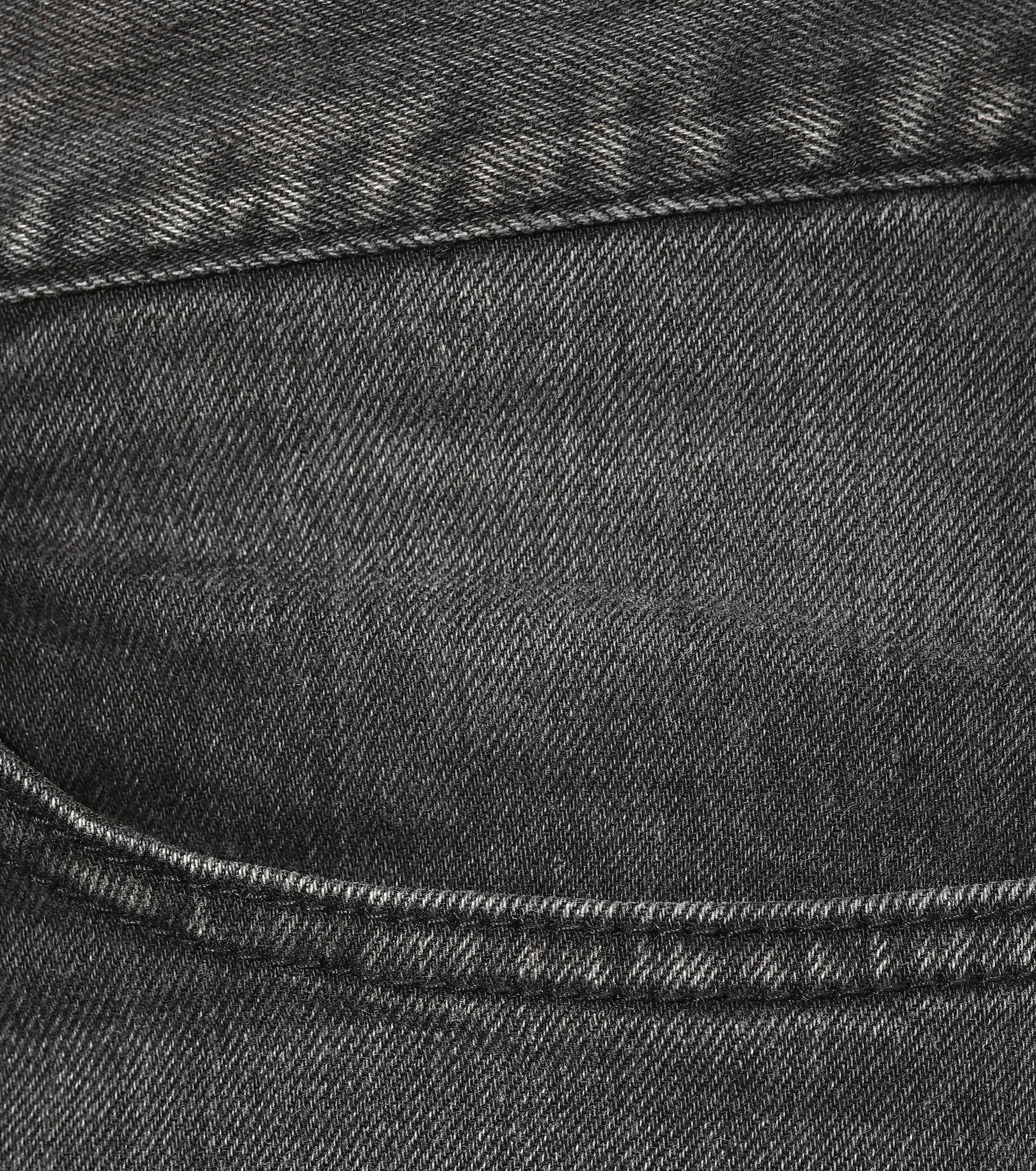 Jeans de tiro medio gastados Balenciaga de Denim de color Negro