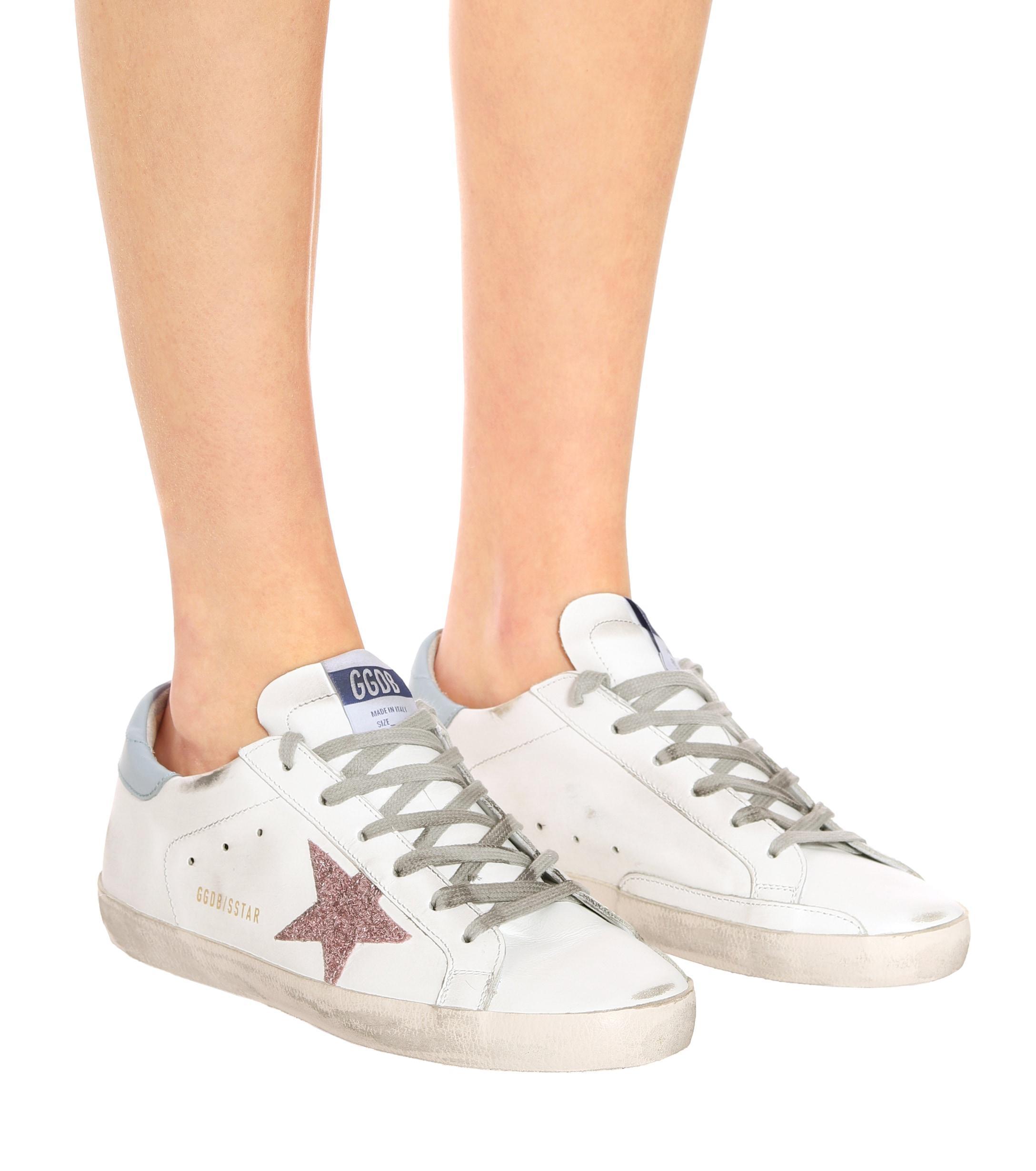 Zapatillas Superstar de piel Golden Goose Deluxe Brand de Cuero de color Blanco