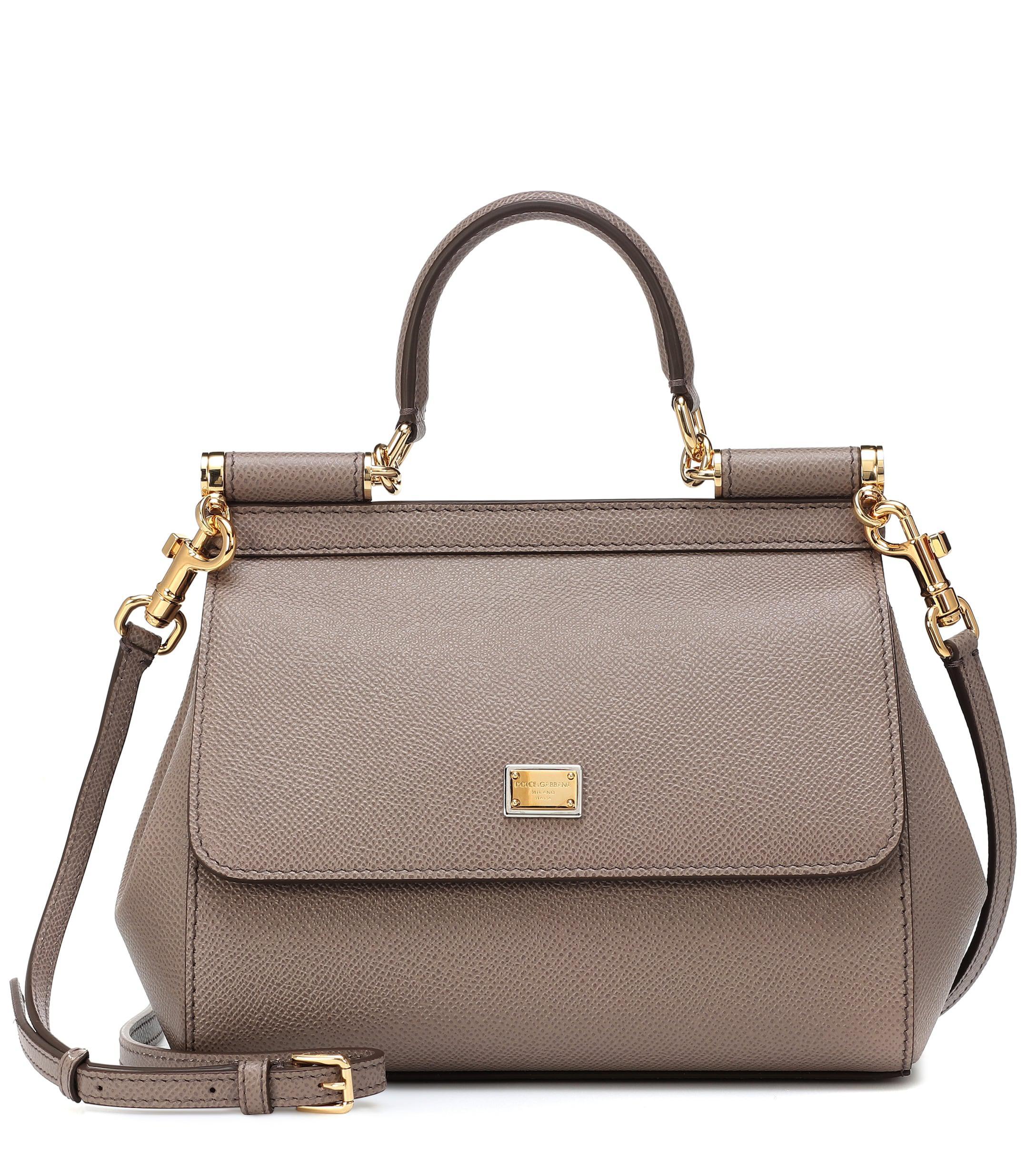 0b37b64a37 Dolce   Gabbana. Women s Sicily Small Leather Shoulder Bag