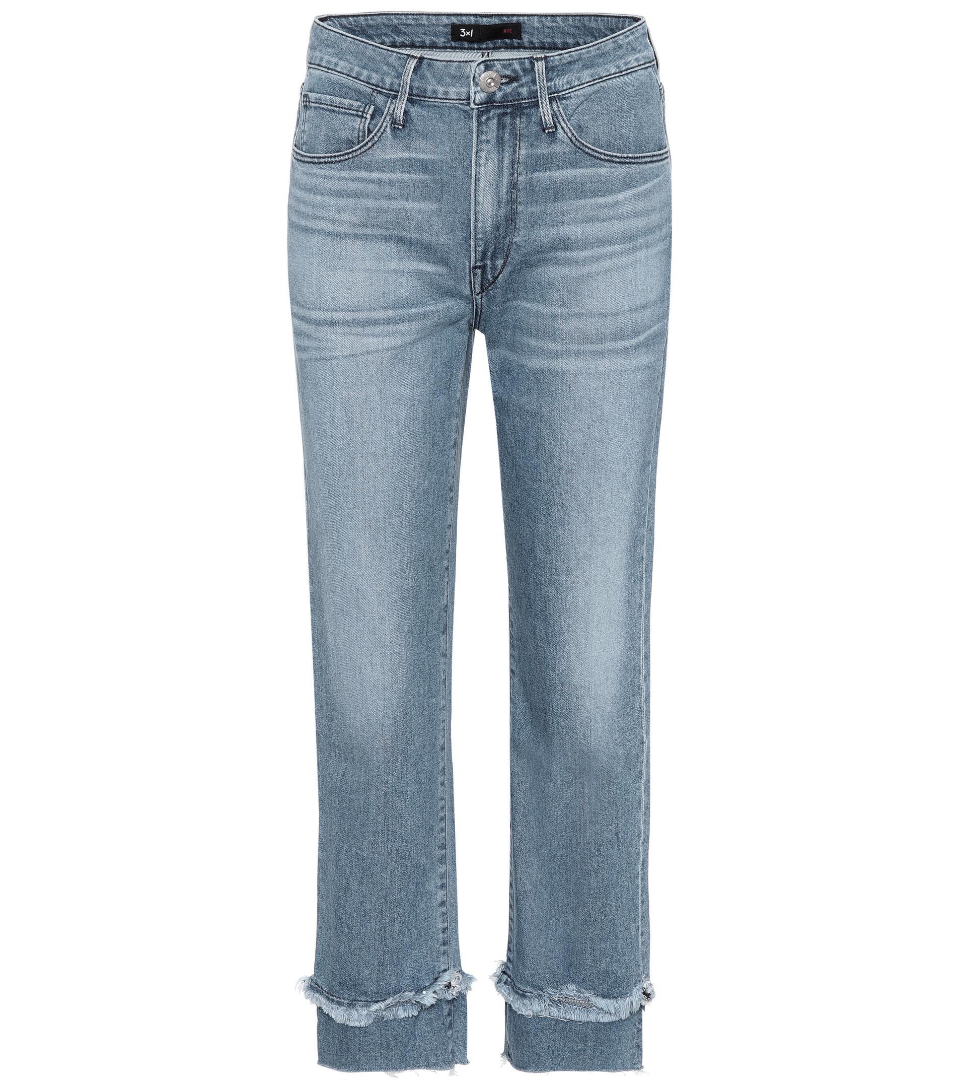 W3 Higher Ground Slim Crop jeans 3x1 brvjDO