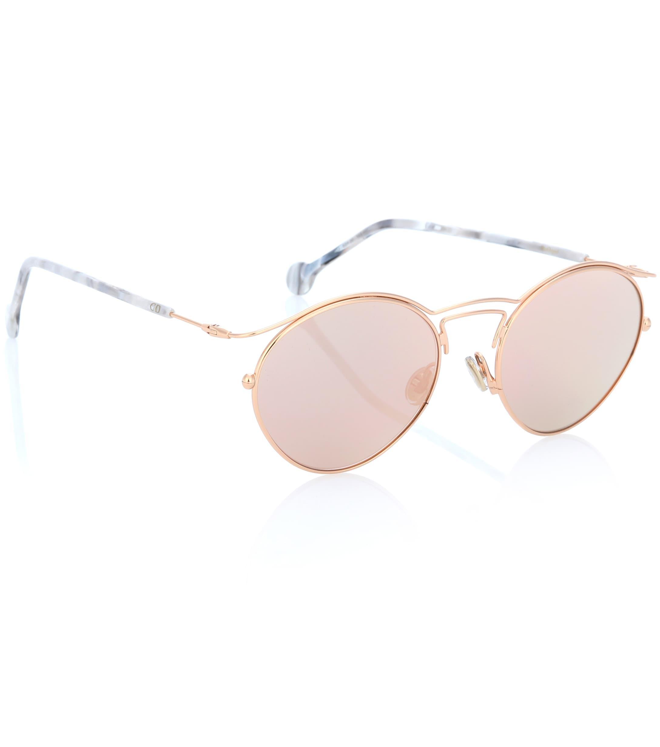 cbe172075c Dior - Metallic Diororigins1 Round Sunglasses - Lyst. View fullscreen