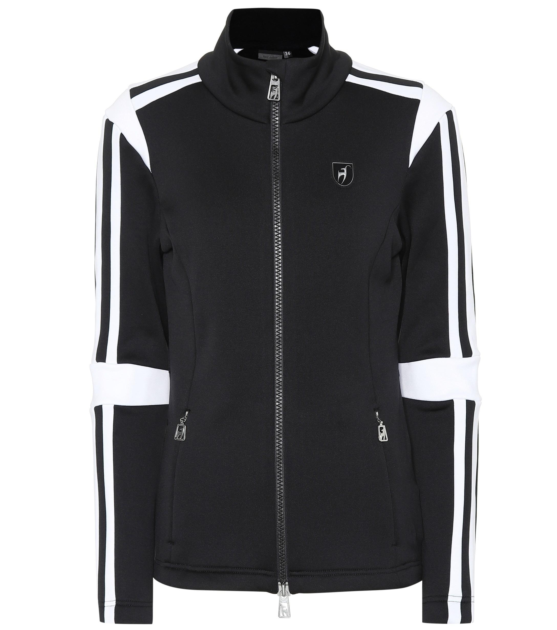 057b23dab15 Toni Sailer Felice Fleece Jacket in Black - Lyst