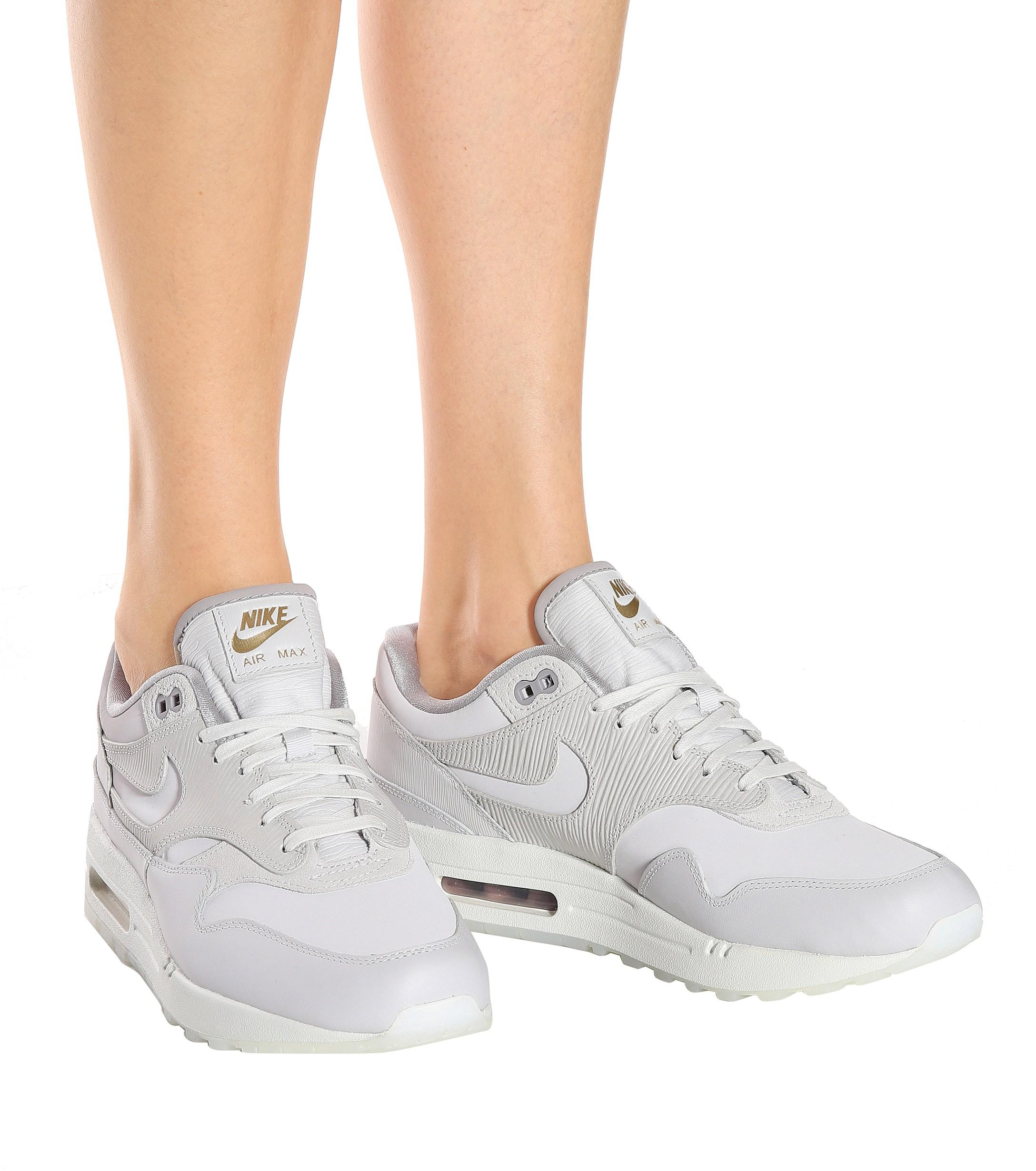 Zapatillas Air Max 1 Premium de gamuza Nike de Ante de color Gris