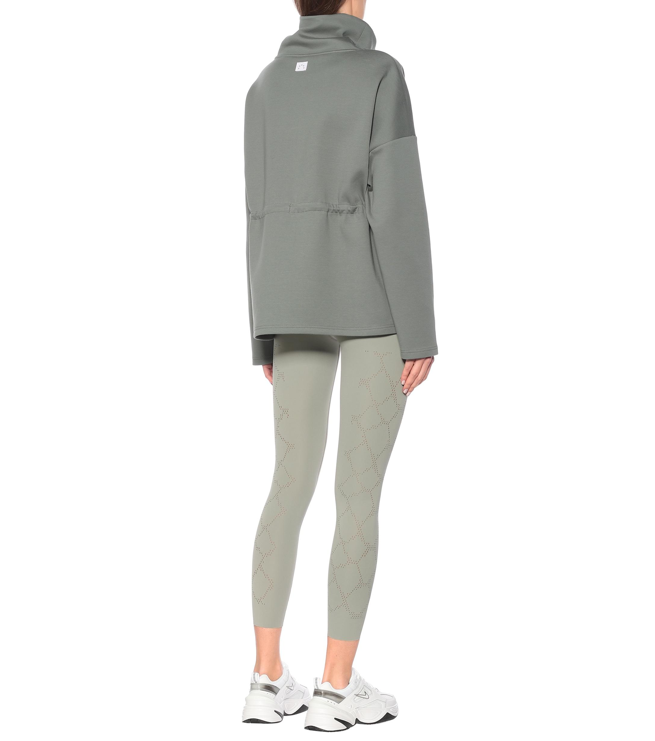 Sweat-shirt Barton en coton mélangé Coton Varley en coloris Vert
