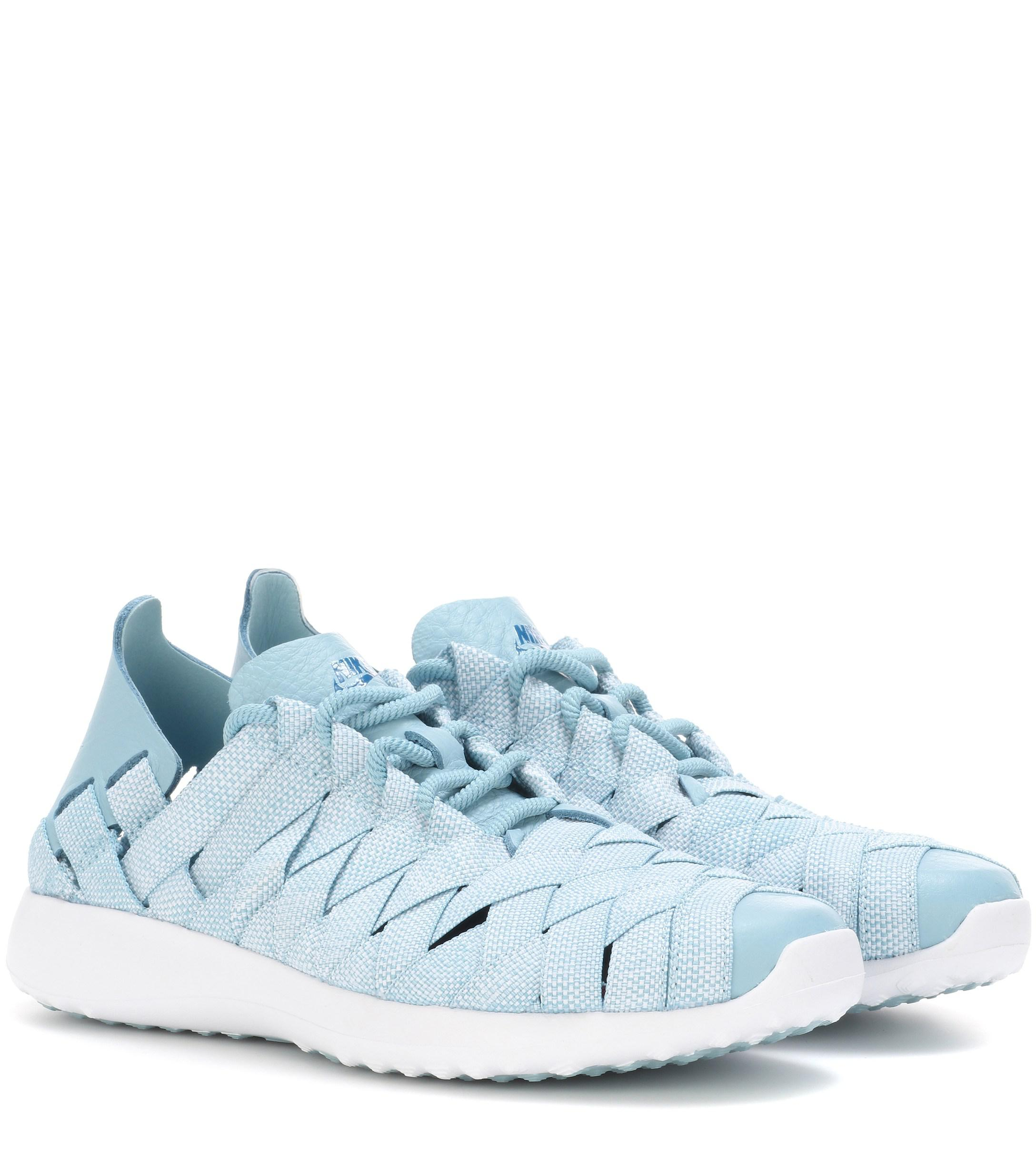 half off 0e17c 77e6b Nike. Women s Blue Juvenate Woven Sneakers