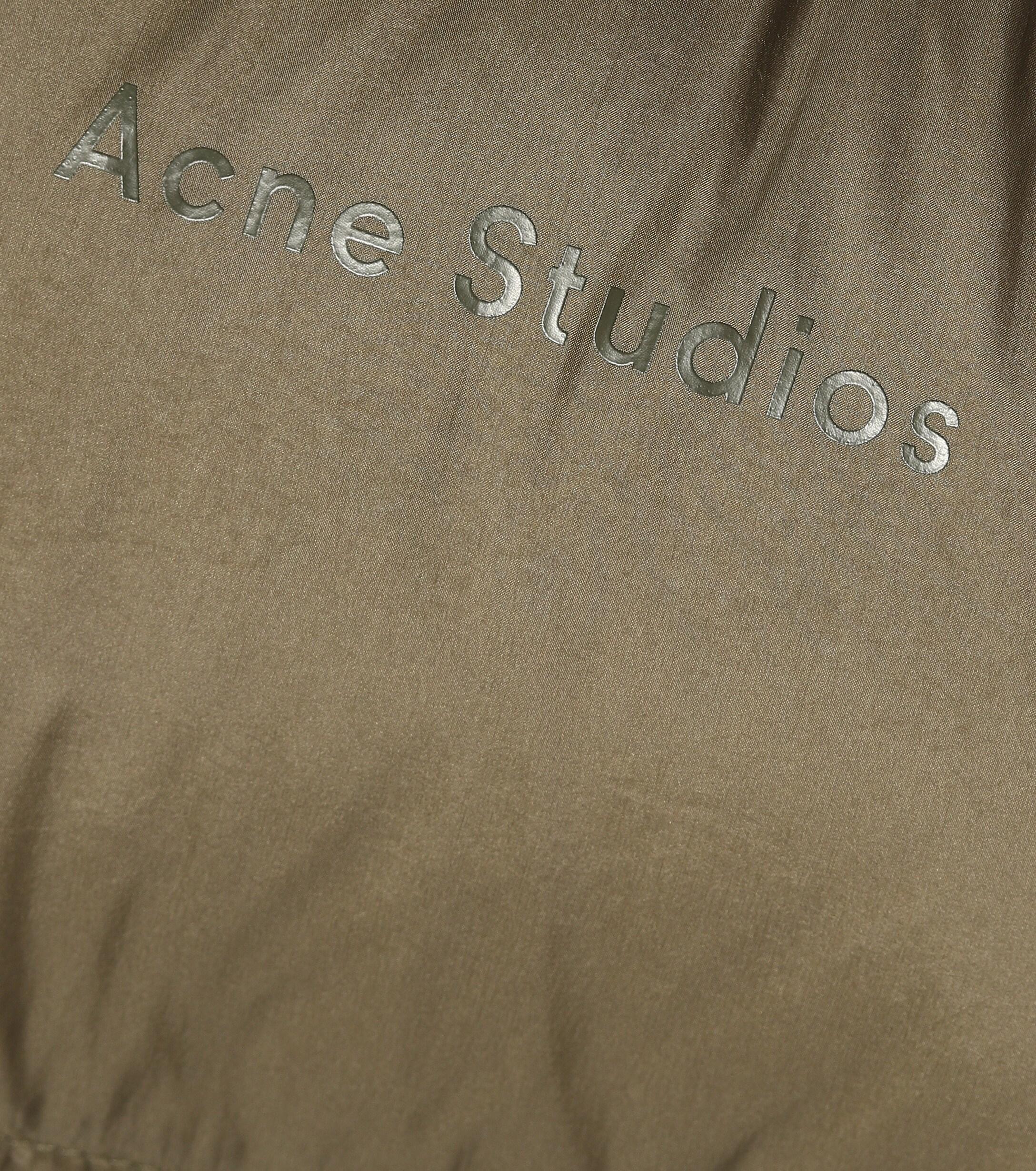 Manteau doudoune Synthétique Acne Studios en coloris Vert efgGB