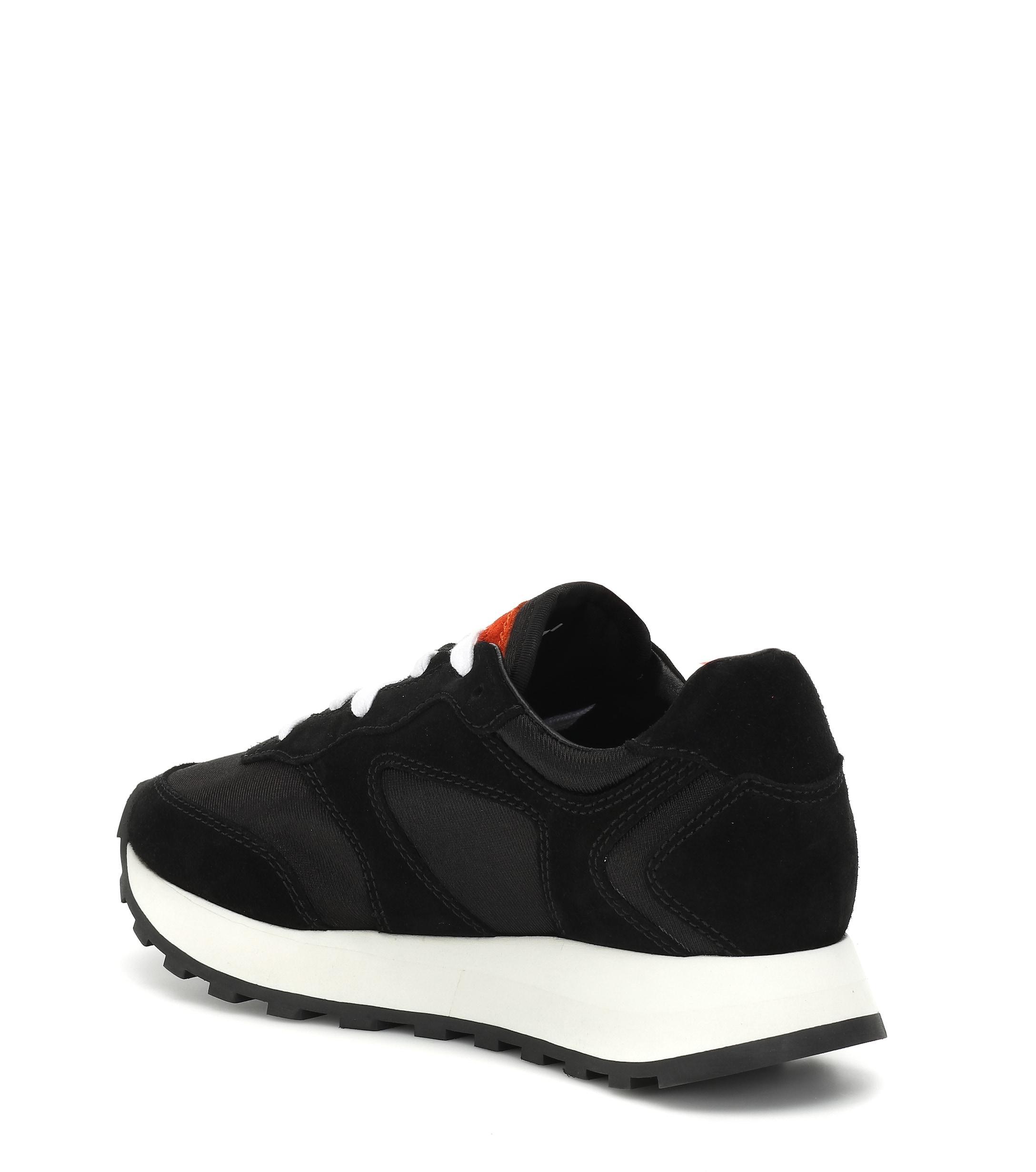 Zapatillas Runner de gamuza Off-White c/o Virgil Abloh de Ante de color Negro