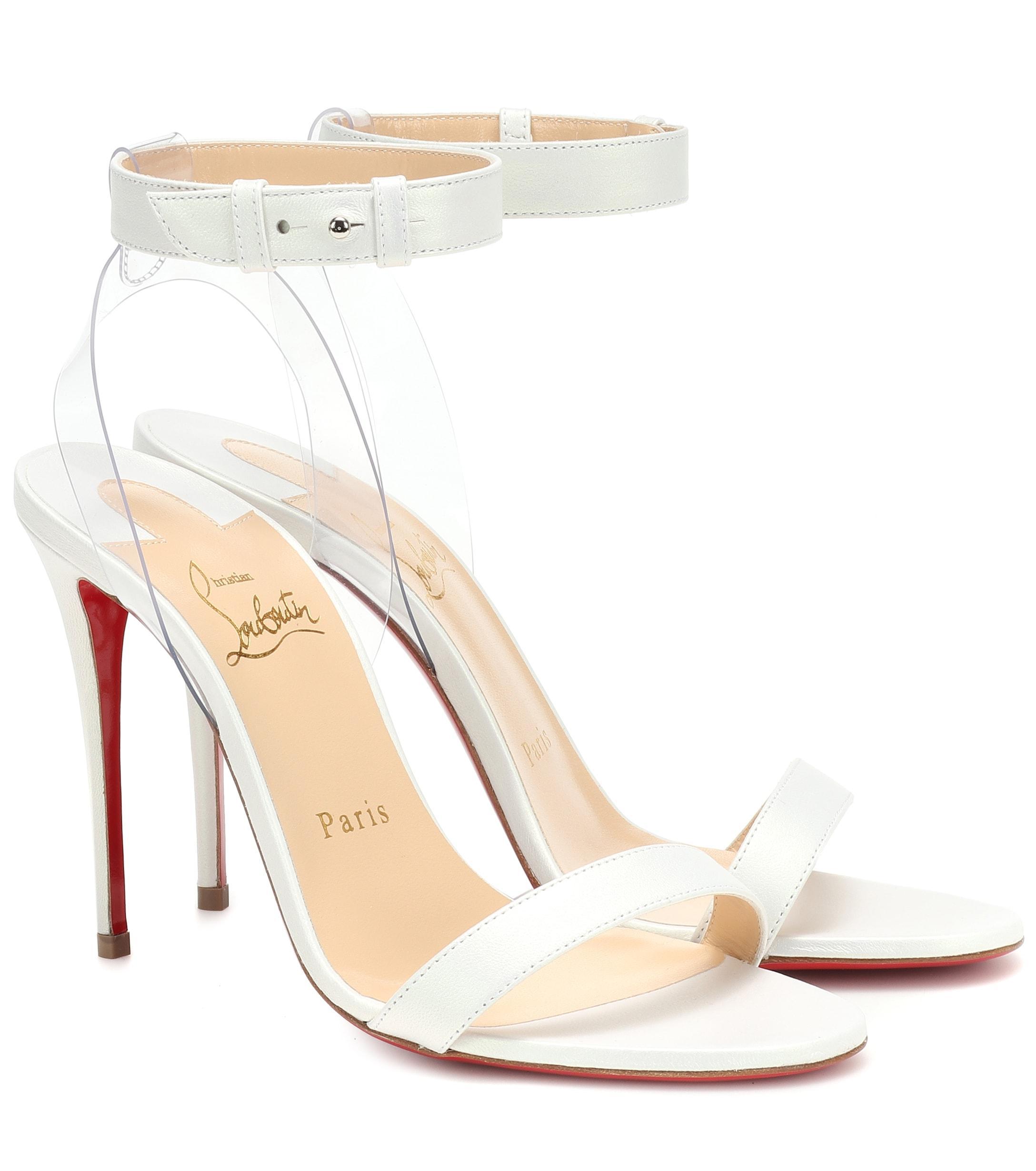 d7d16019682c Christian Louboutin. Women s Jonatina 100 Leather Sandals