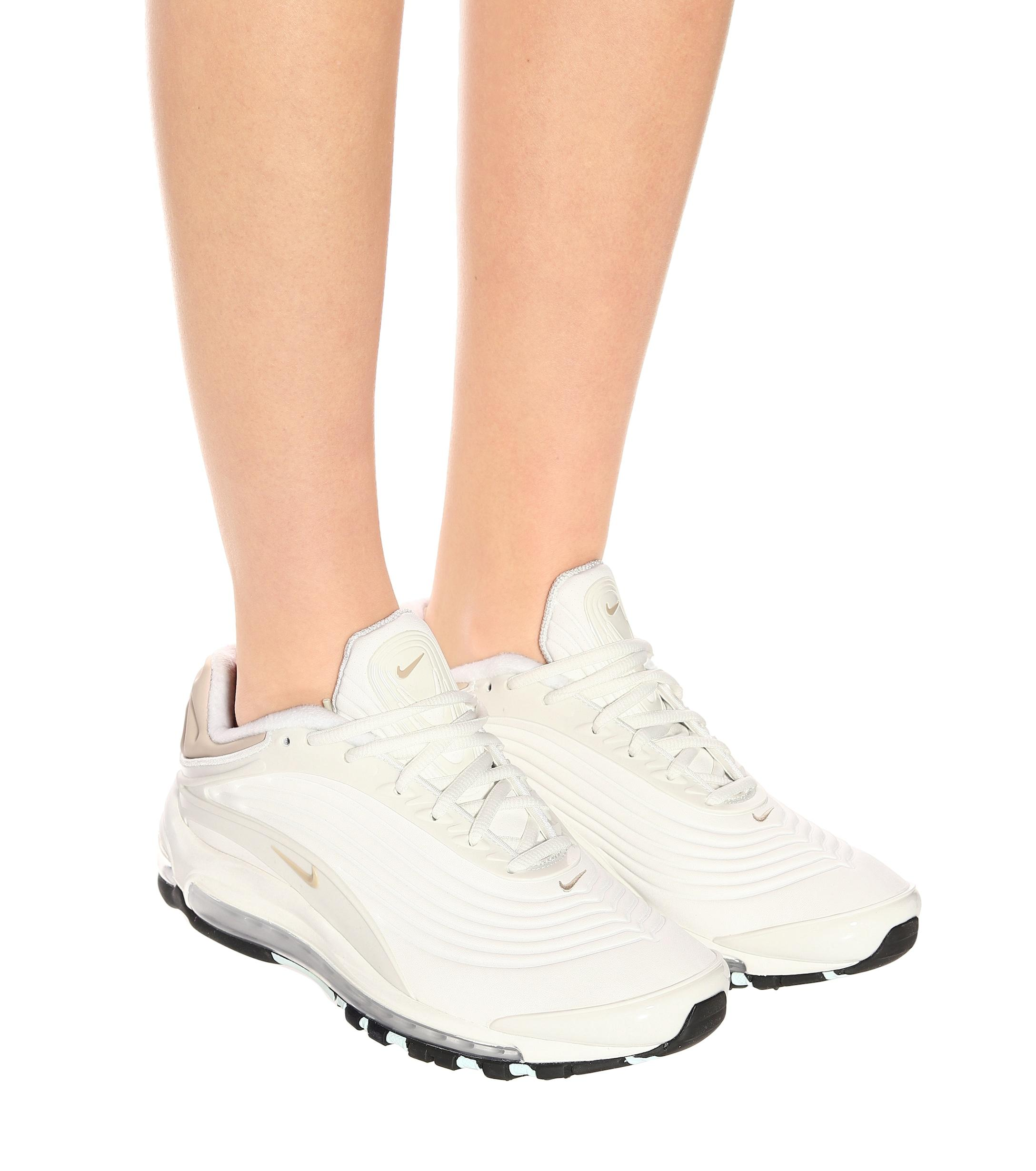 Zapatillas Air Max Deluxe Nike de color Blanco