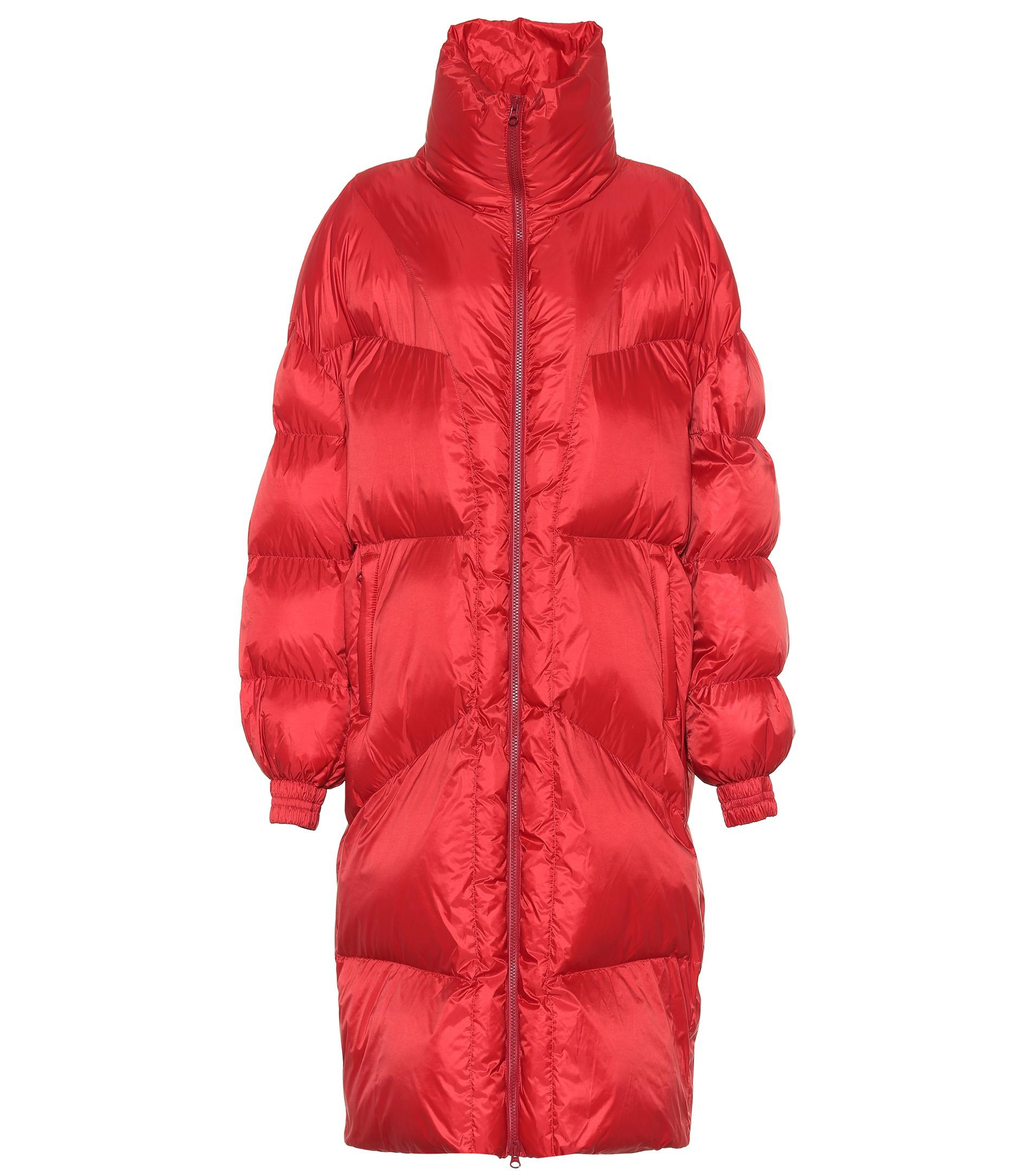 zahlreich in der Vielfalt bestbewertet billig am besten kaufen Étoile Isabel Marant Cray Puffer Coat in Red - Lyst