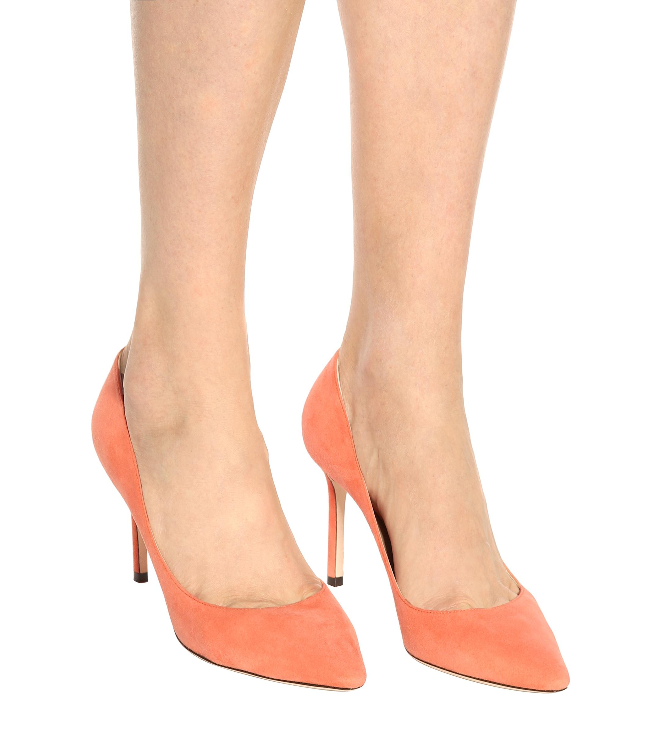 Zapatos de tacón de gamuza Romy 85 Jimmy Choo