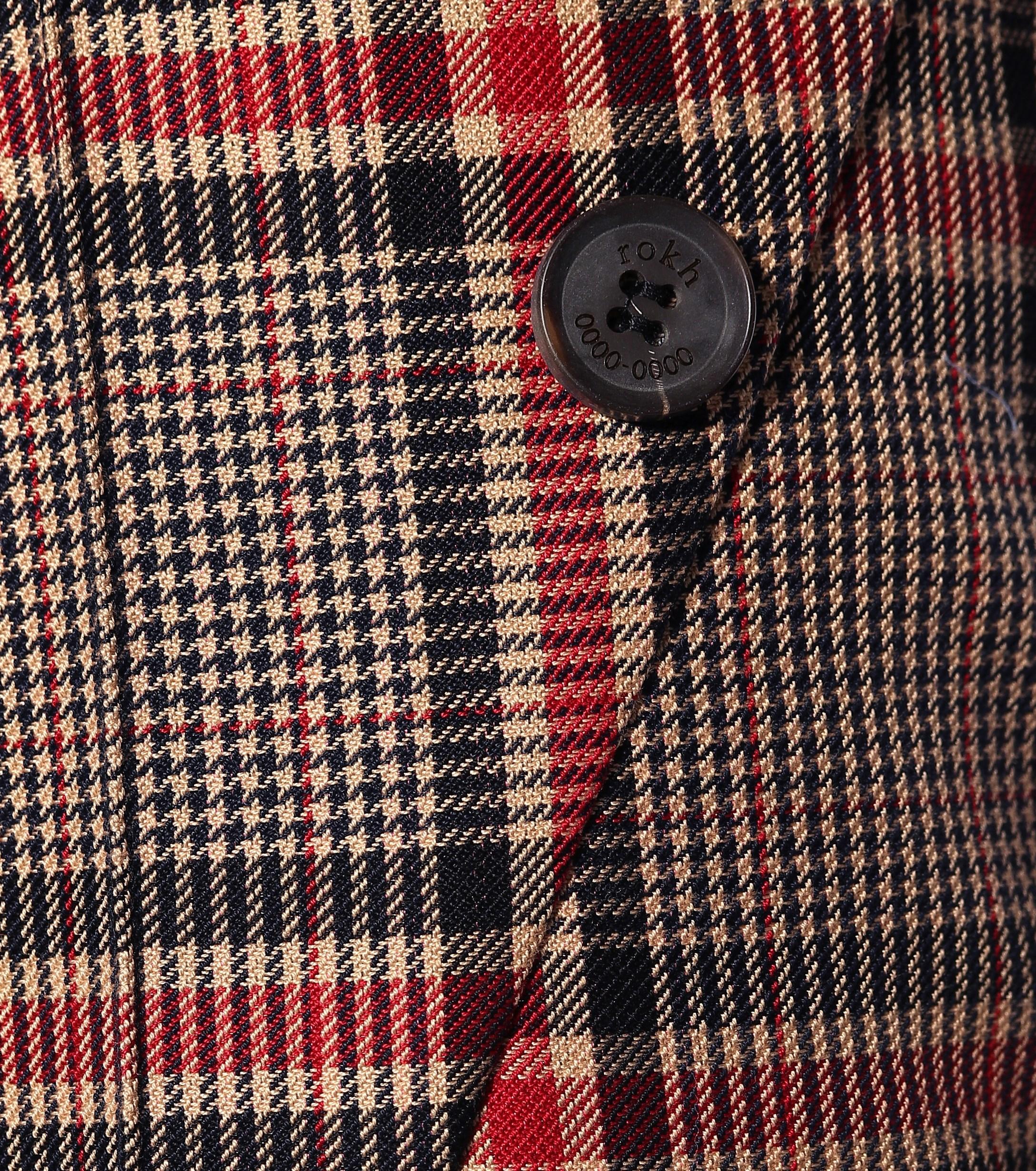 Pantalones en mezcla de algodón ROKH de Algodón de color Marrón: ahorra un 4 %