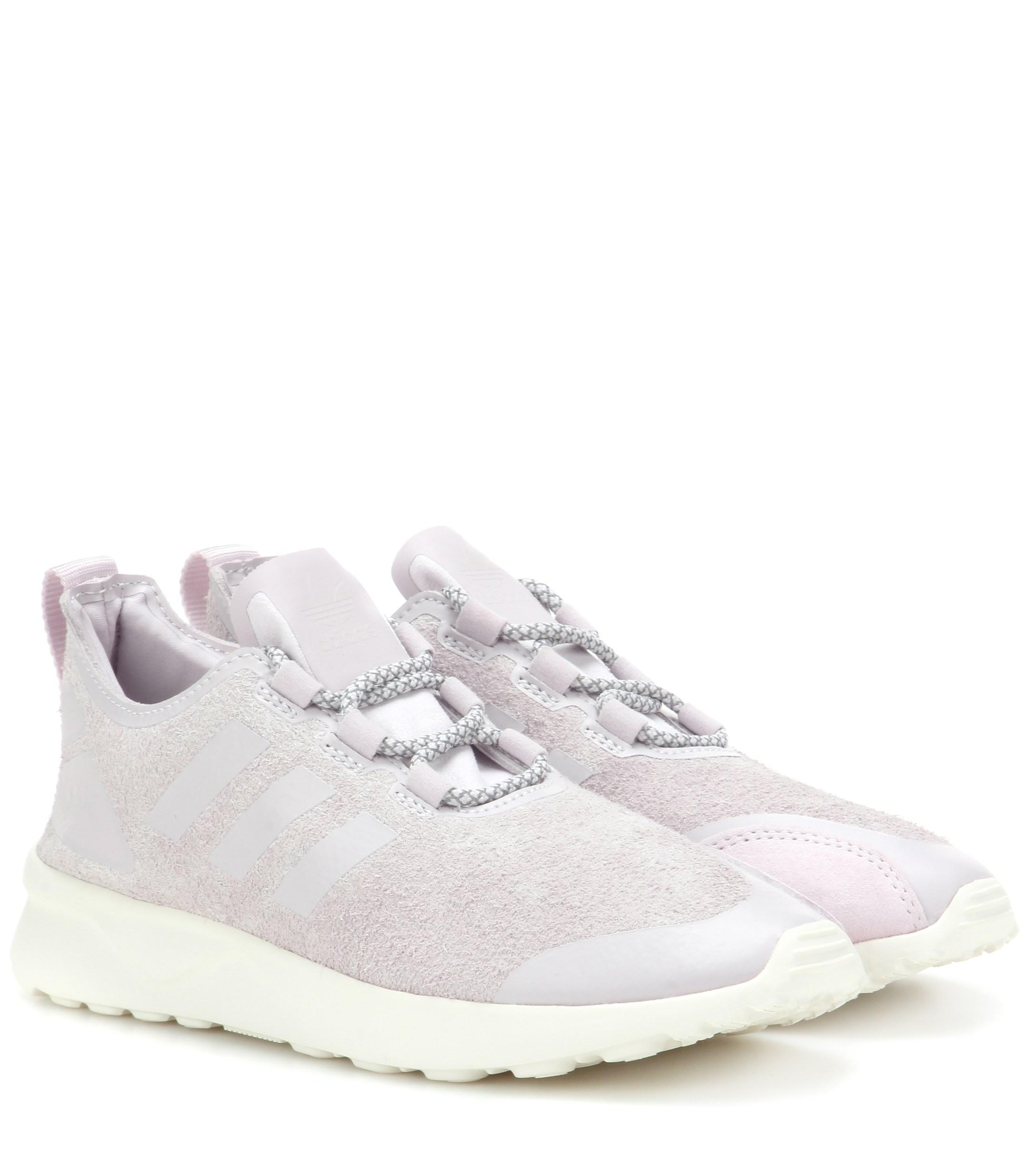 watch c5dd6 795f9 adidas Originals. Women s Zx Flux Adv Verve Suede Trainers