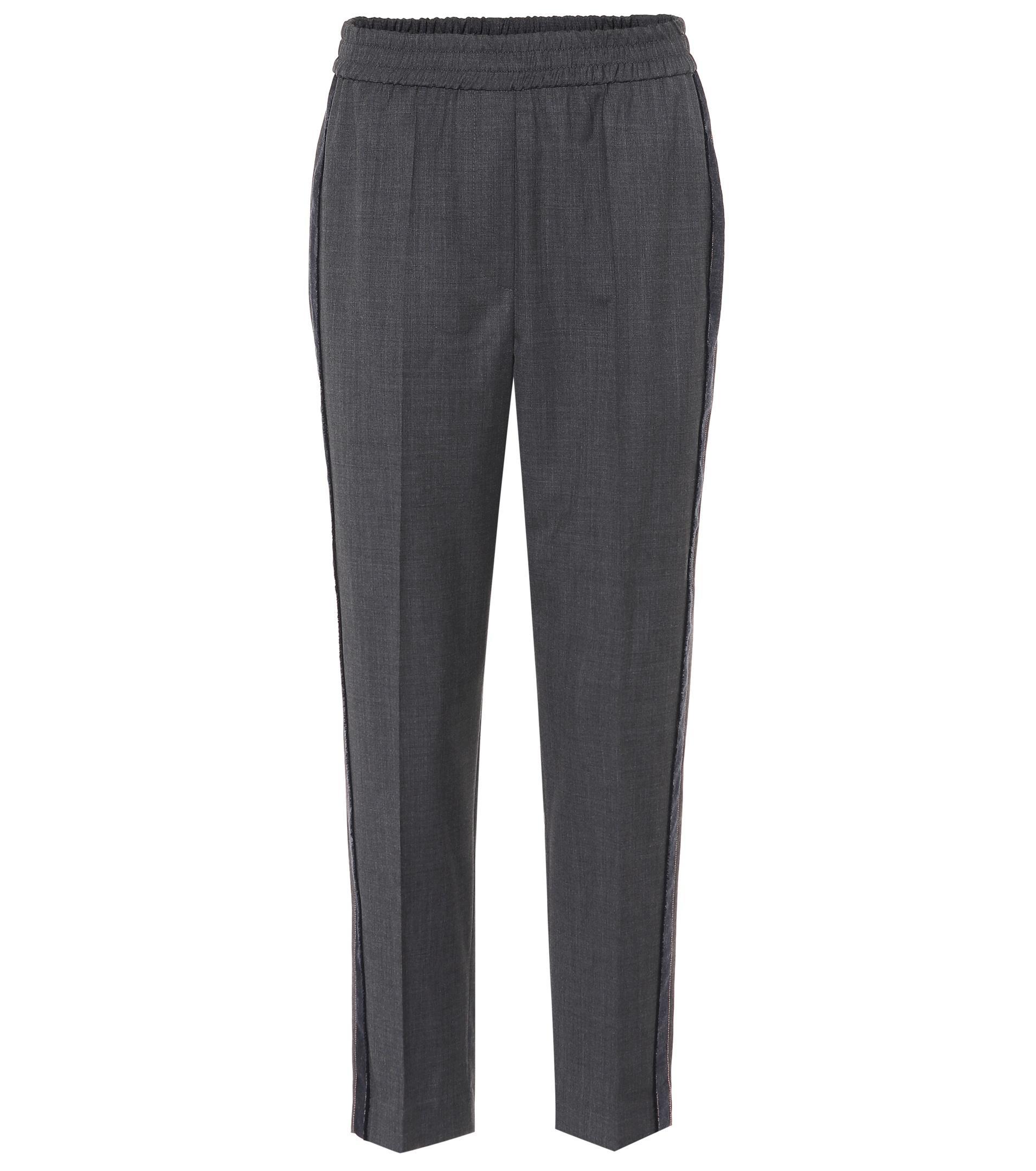 Embellished wool trousers Brunello Cucinelli su9b7