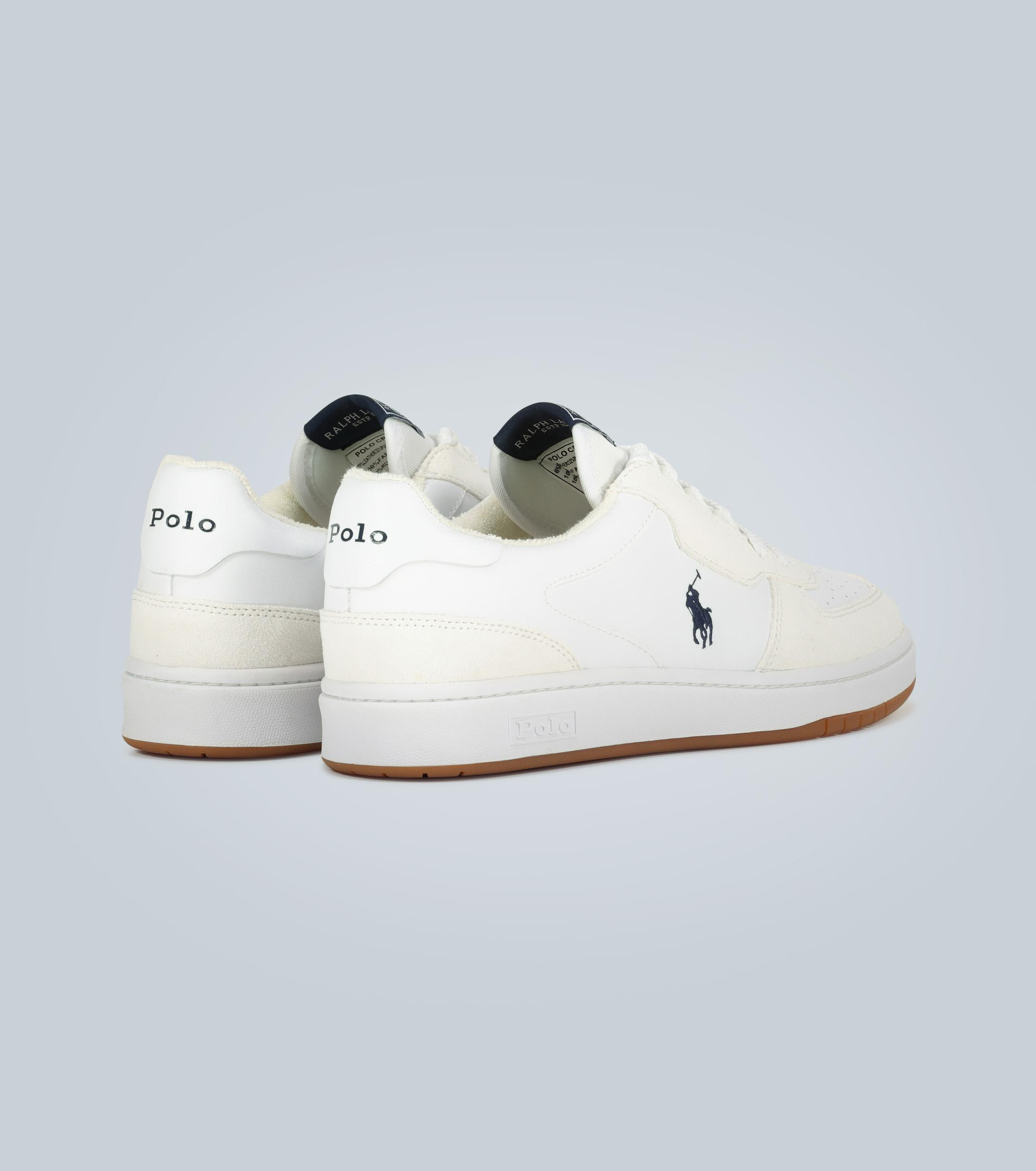 Polo Ralph Lauren Embroidered Leather