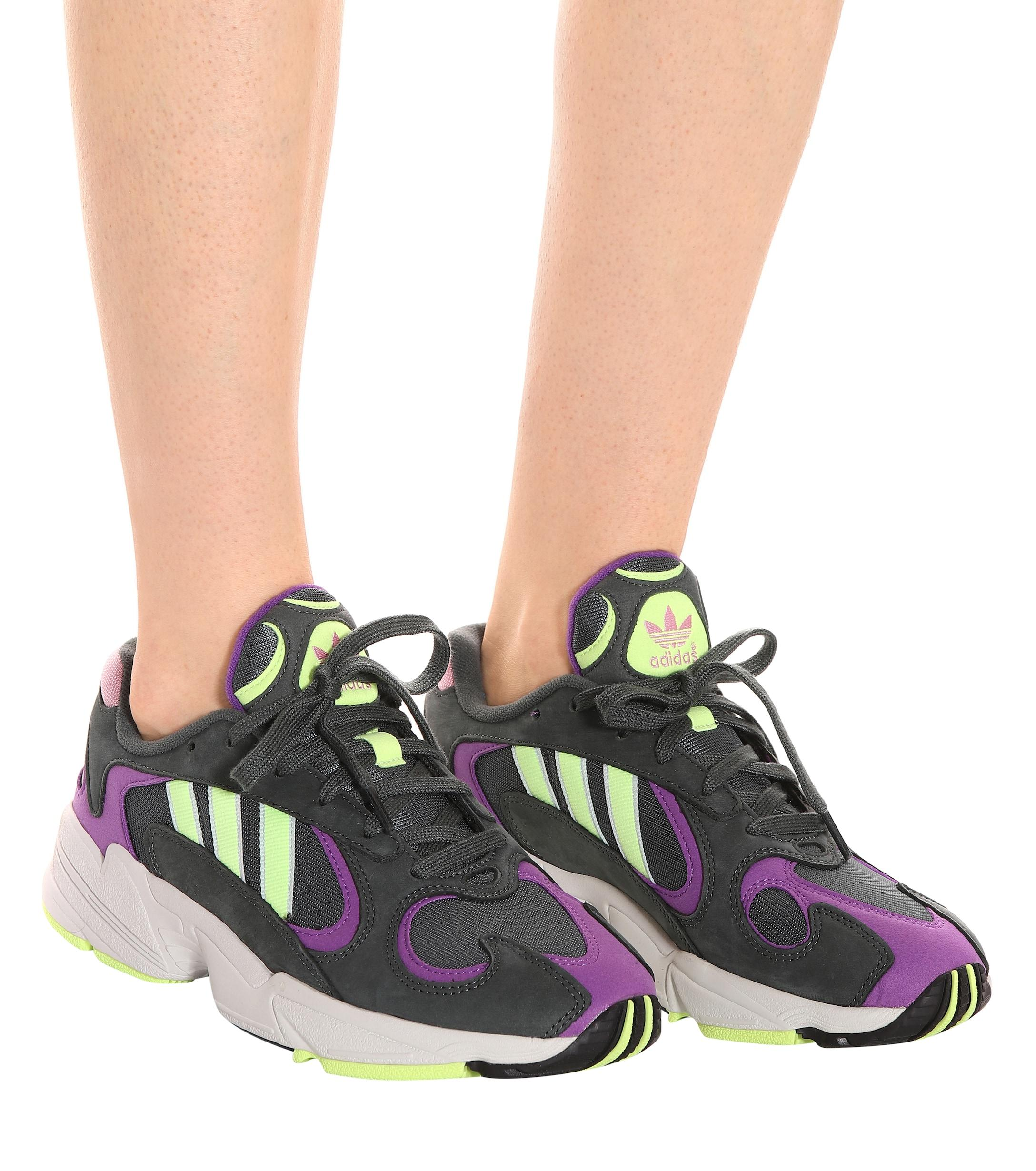 Zapatillas Yung-1 de gamuza adidas Originals