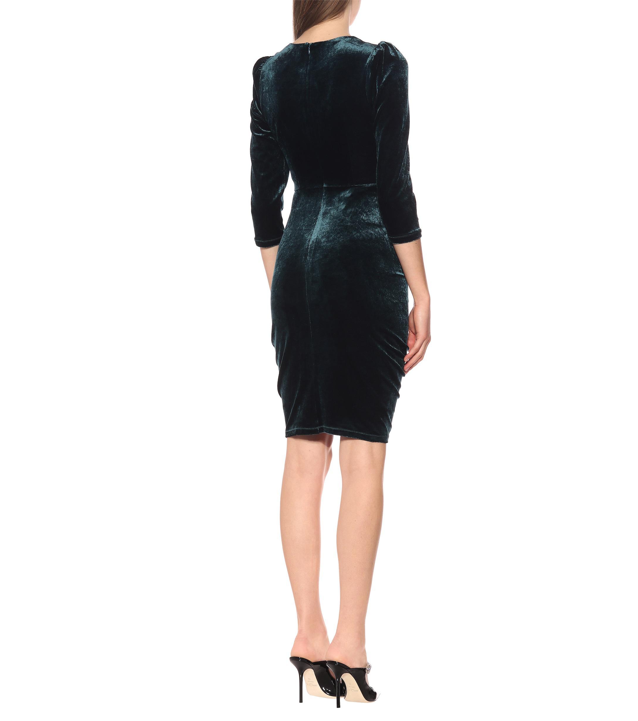 Von Coloris Bruna Diane Velours En Furstenberg Black Robe gvIf76yYb