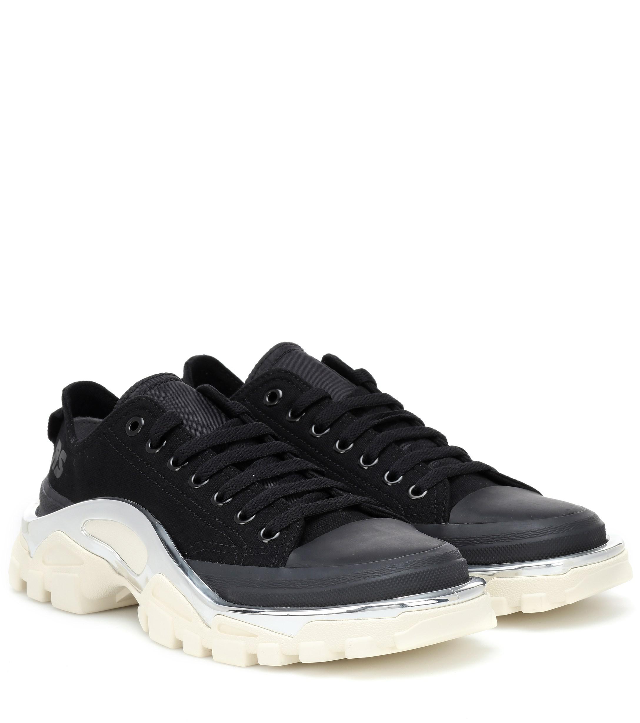 Lyst - adidas By Raf Simons Rs Detroit Runner Sneakers in Black 44d6ecb0e