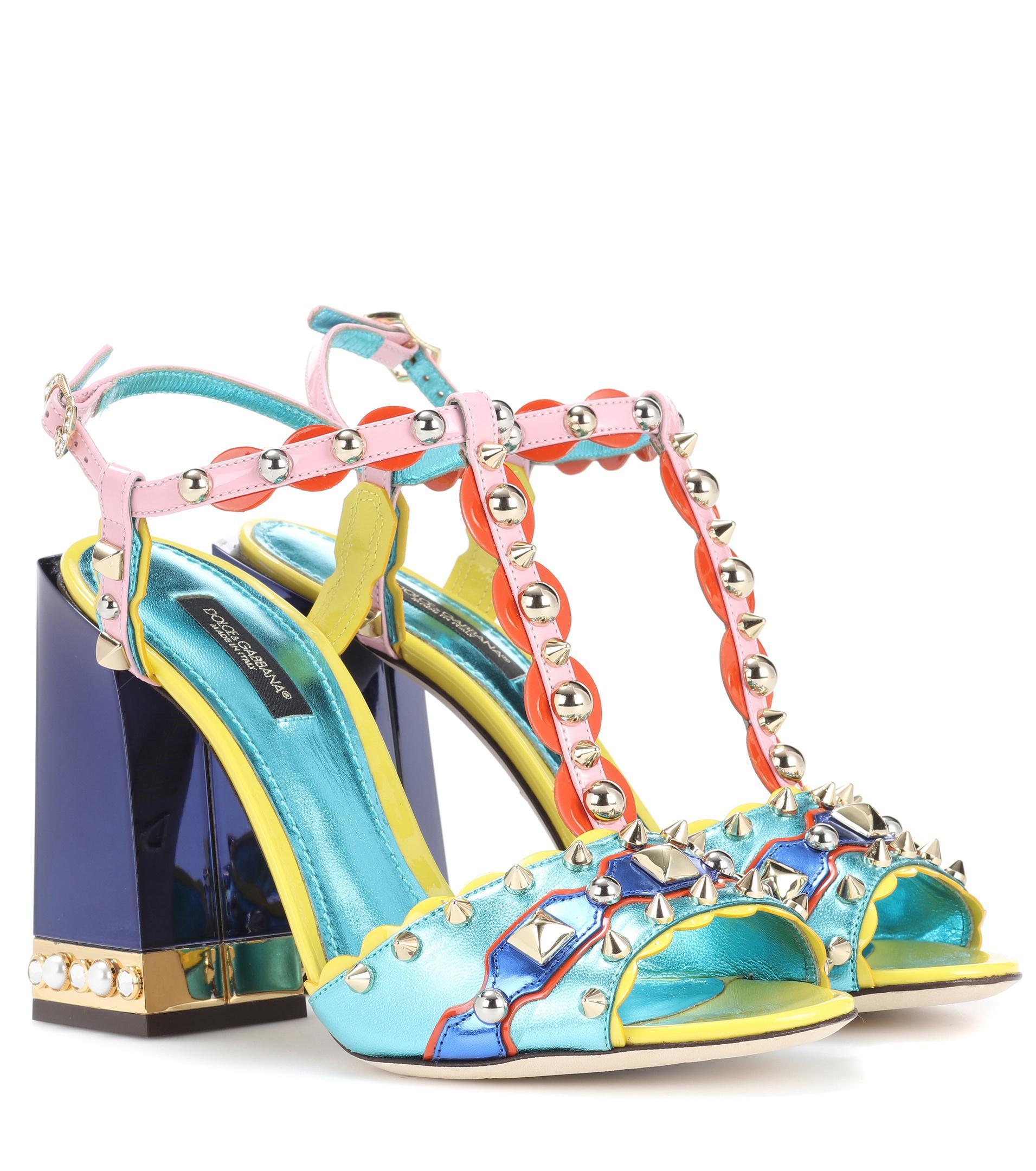 ead0b480529 dolce-gabbana-multicoloured-Embellished-Leather-Sandals.jpeg