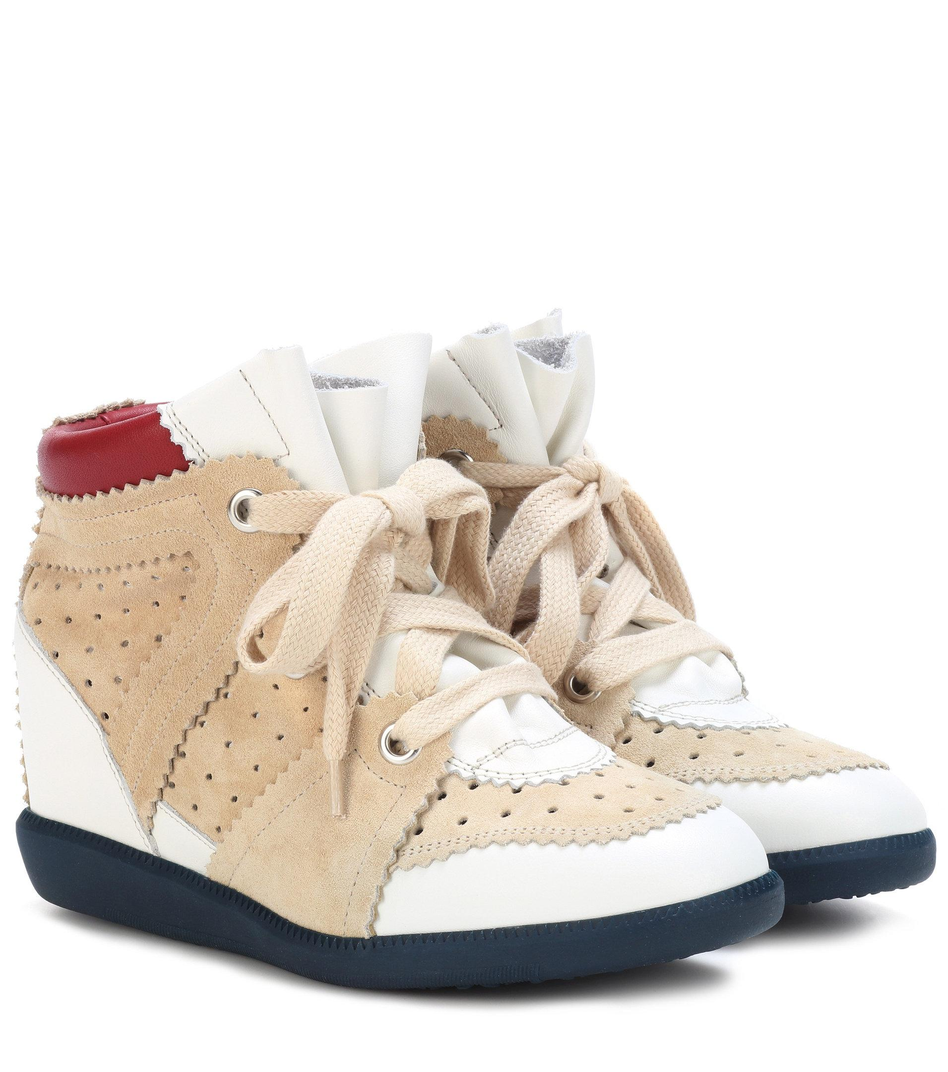 Betty leather and suede sneakers Isabel Marant h79ZdyuDAL