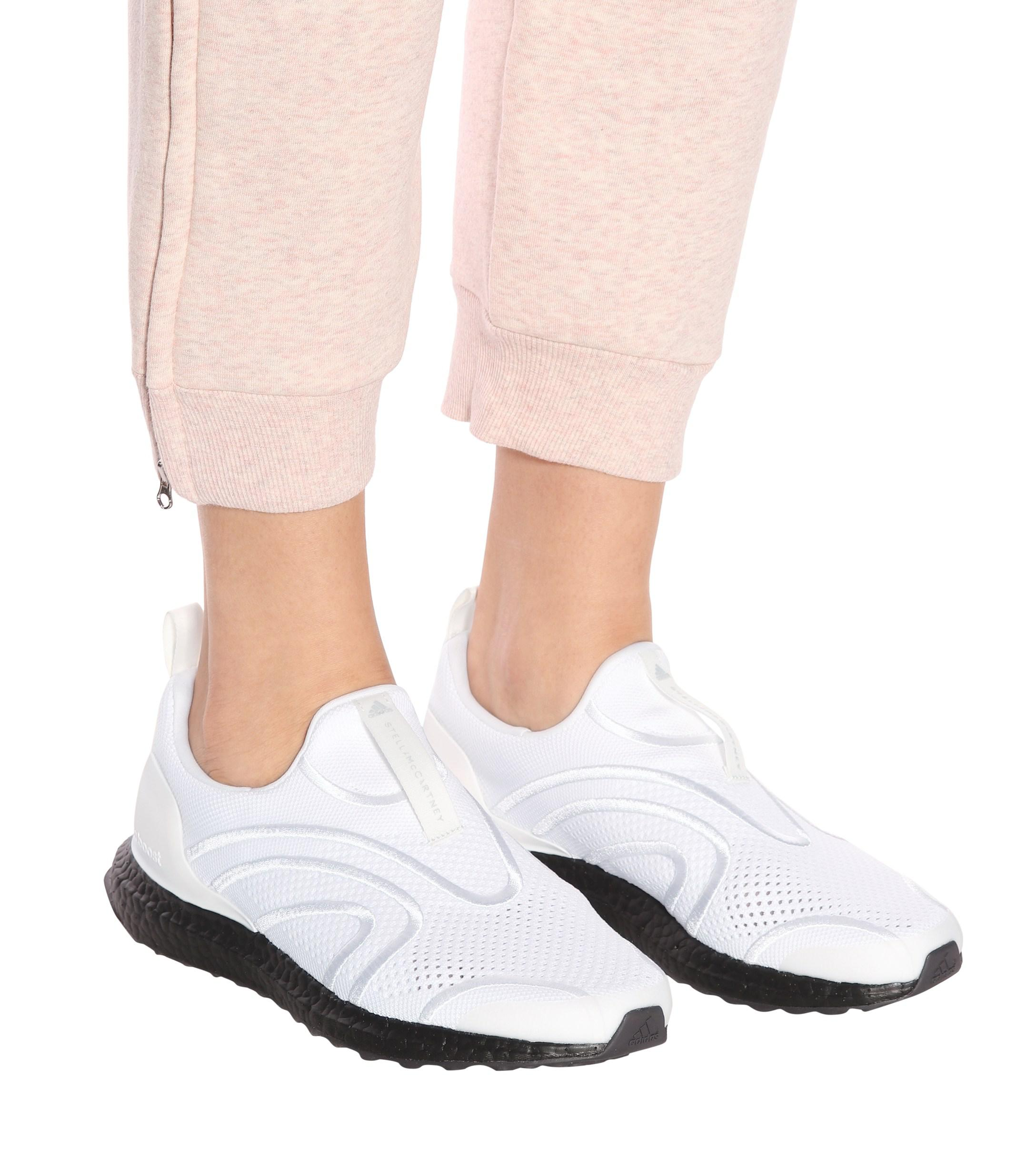 4e8763ee2 Adidas By Stella McCartney - White Ultra Boost Uncaged Sneakers - Lyst.  View fullscreen