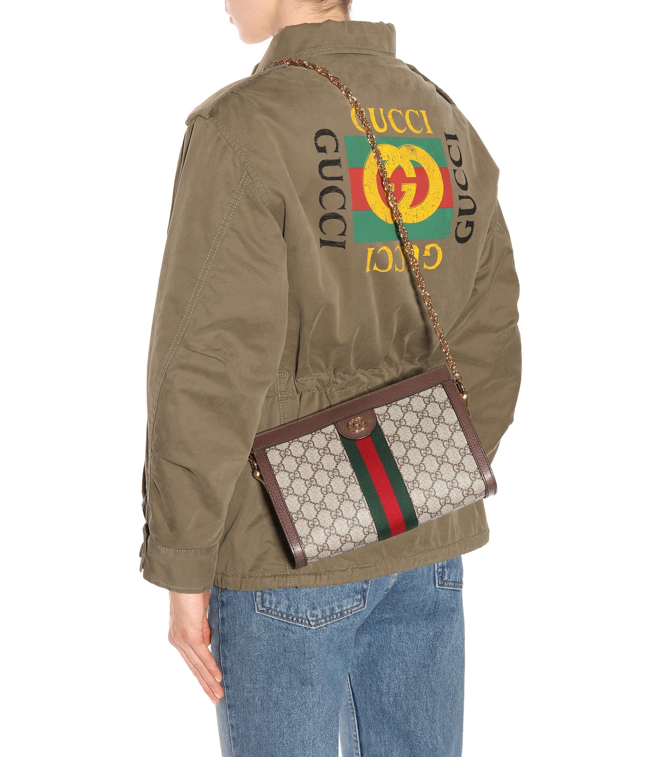 218f4b681399 Gucci - Multicolor Ophidia GG Small Shoulder Bag - Lyst. View fullscreen