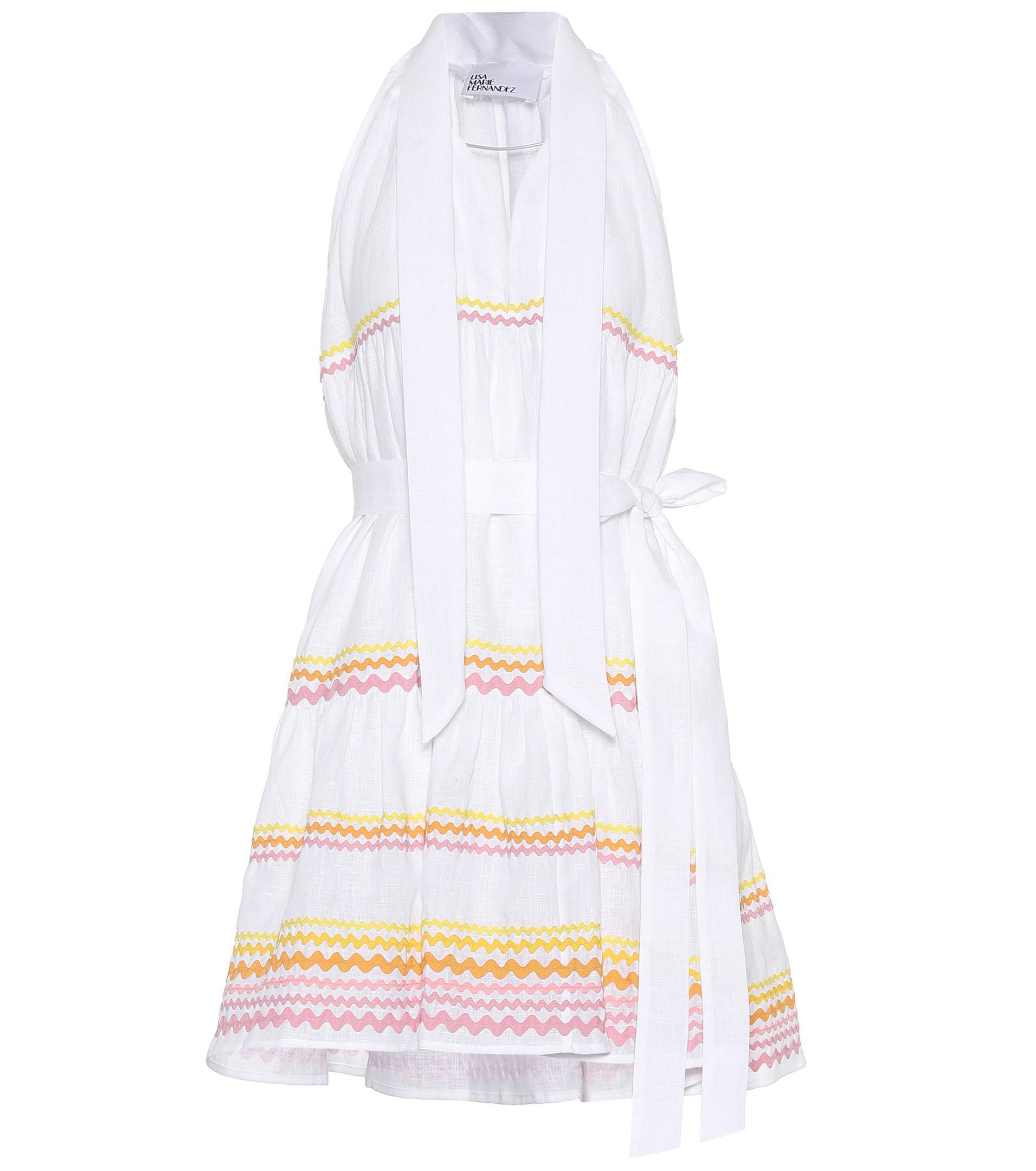 Womens Ava Lily Linen Dress Lisa Marie Fernandez u1q2g