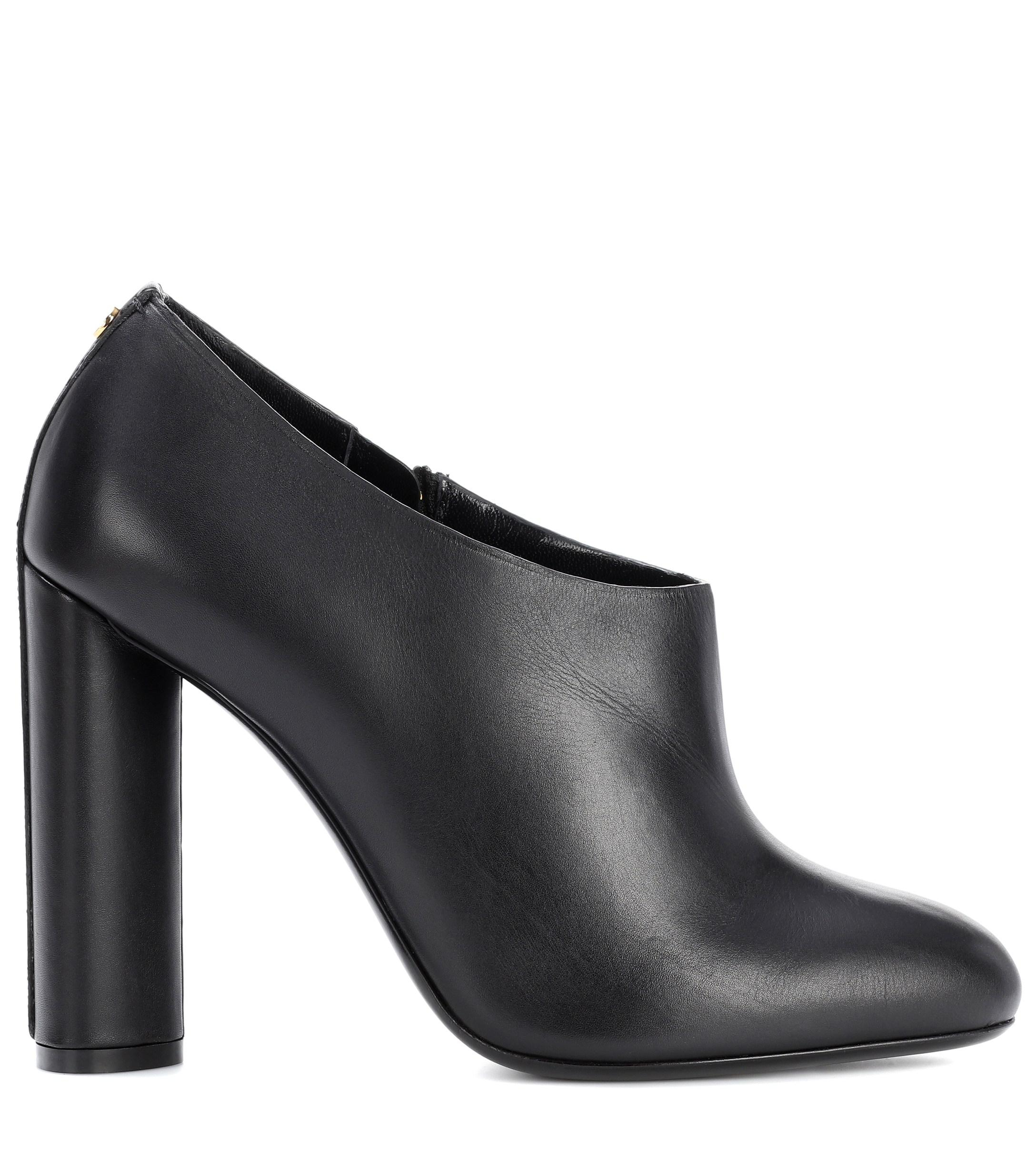 Leather ankle boots Tom Ford de color Negro