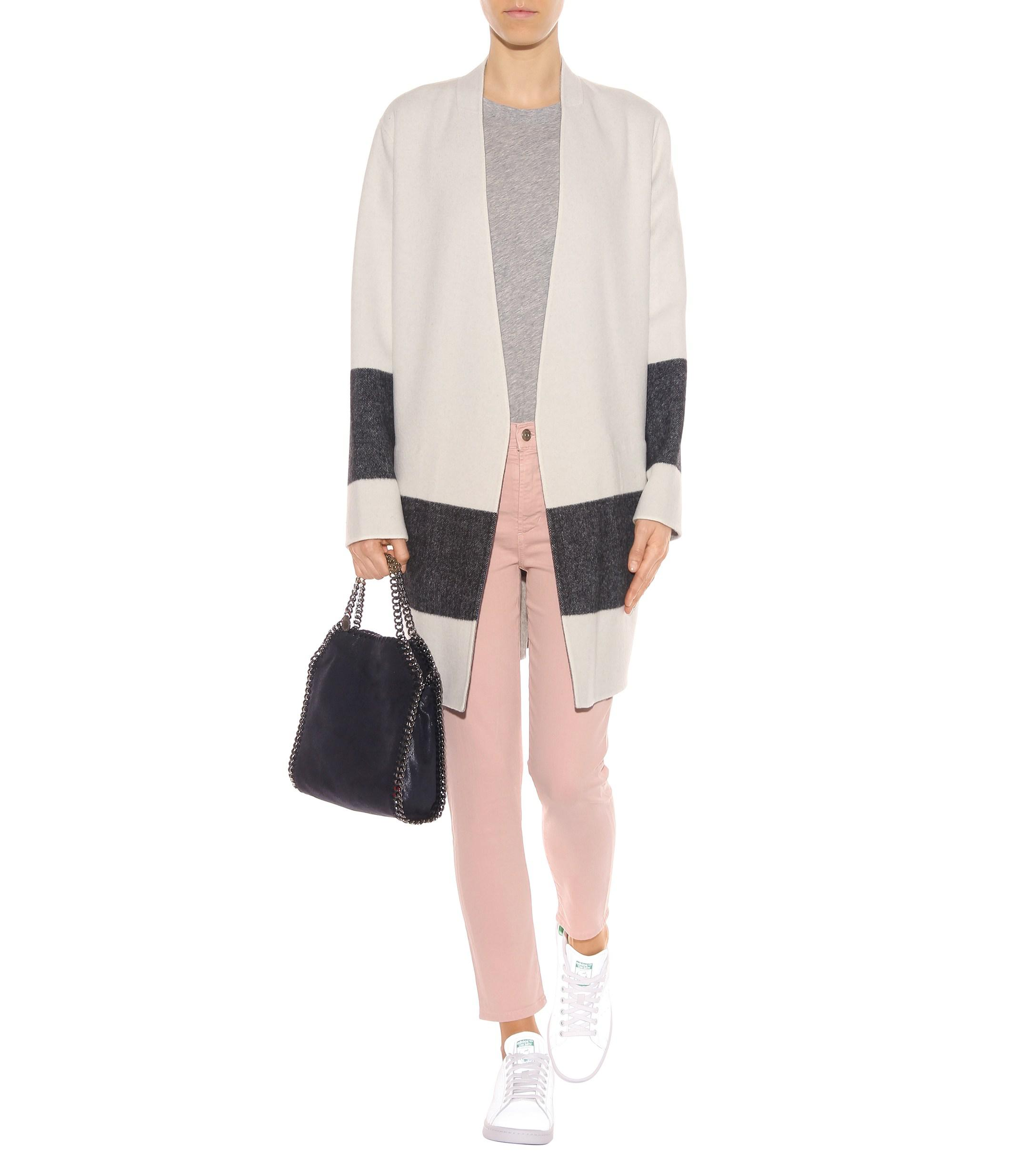 Citizens of Humanity Denim Rocket Crop High-rise Skinny Jeans in Pink