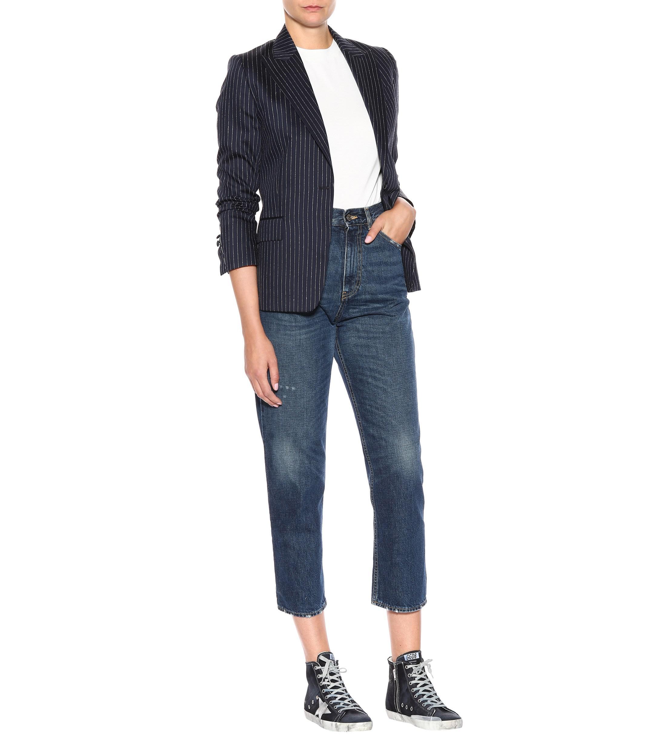 Zapatillas altas Francy de jeans Golden Goose Deluxe Brand de Denim de color Azul