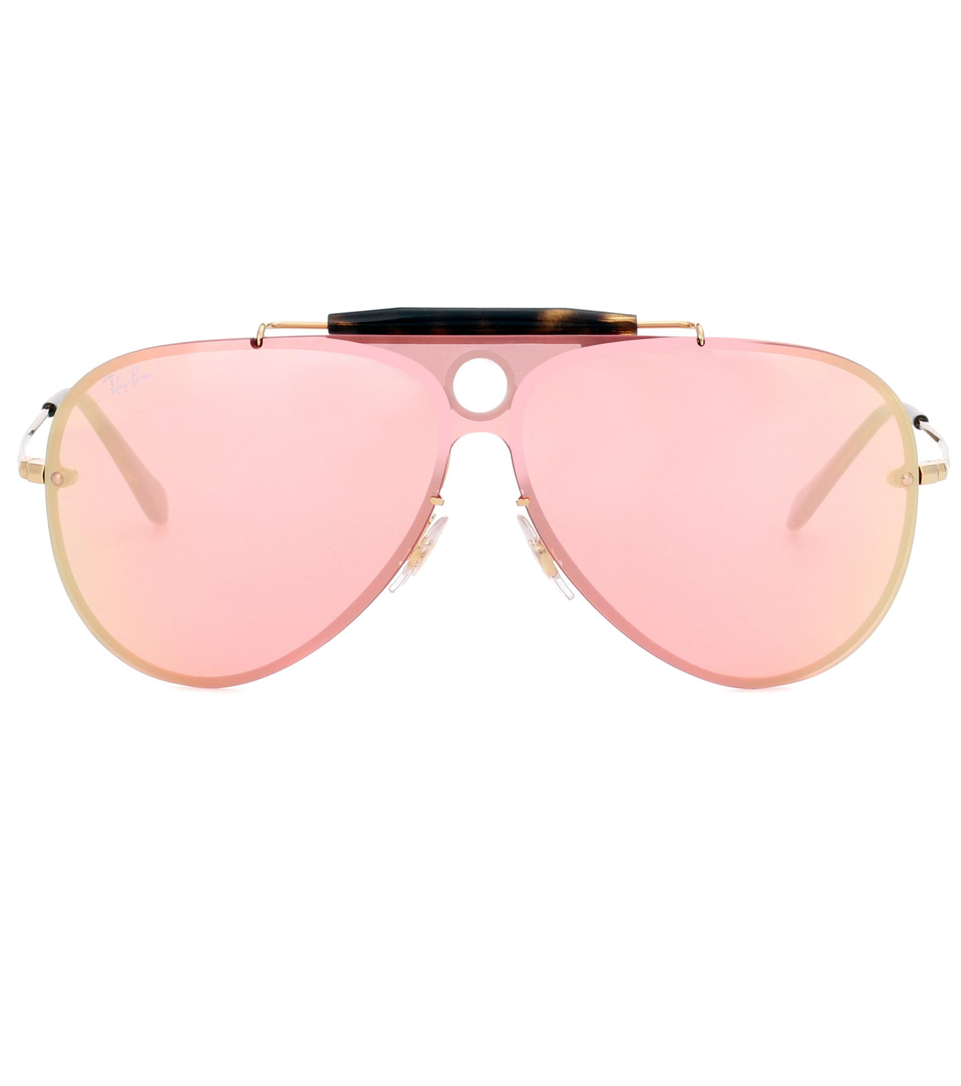 571474c6e2 Lyst - Ray-Ban Rb3581 Blaze Shooter Sunglasses in Pink