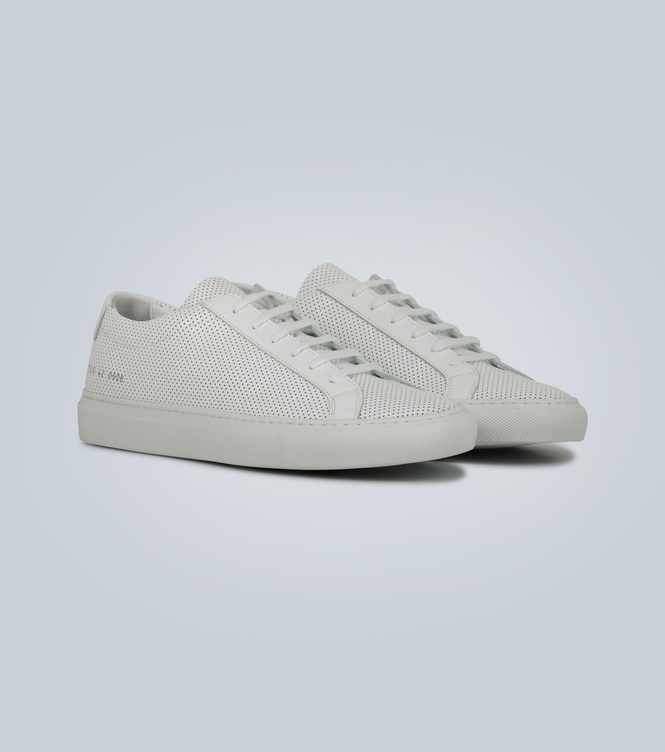 Prisionero Corte Absorbente  Common Projects Leather Original Achilles Low Sneakers in White for Men -  Save 22% - Lyst
