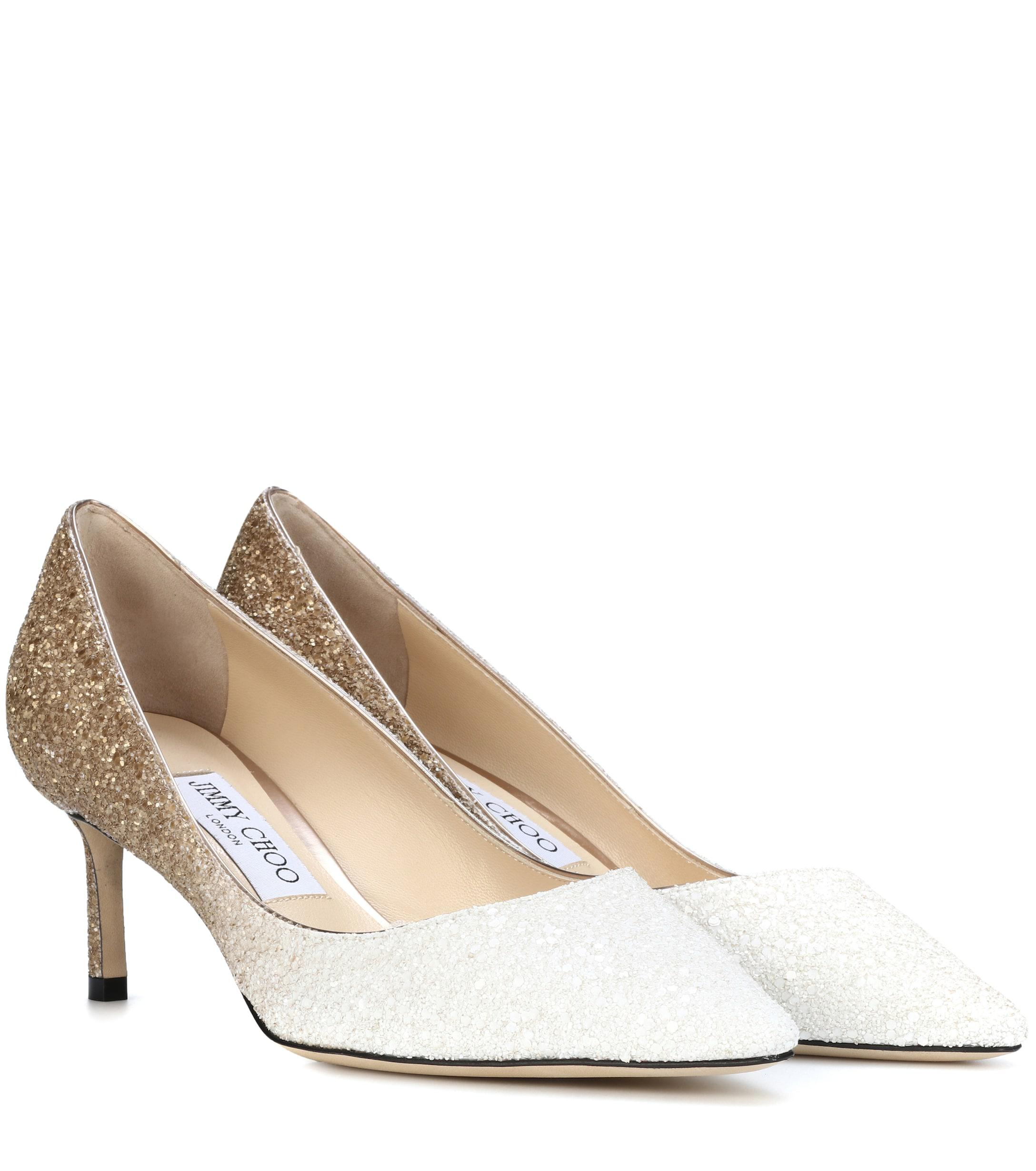 7c6bdb80827d Jimmy Choo. Women s Romy 60 Glitter Pumps