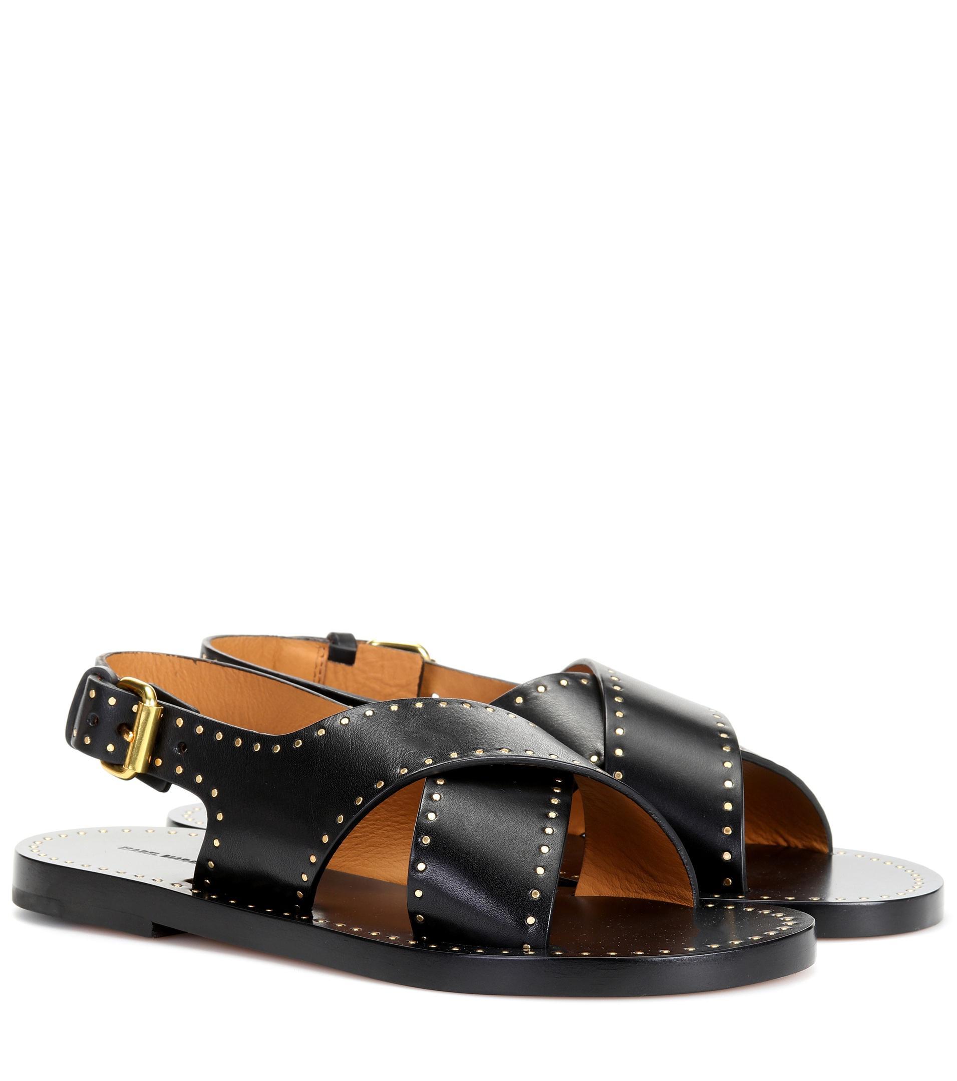 Sandales en cuir JaneIsabel Marant bZAS4XgAz