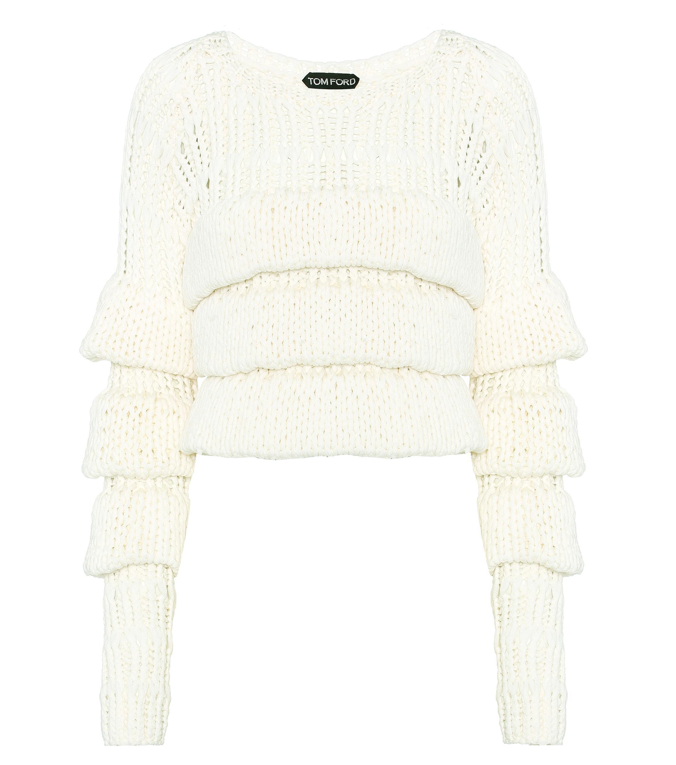 8d1f68effd7 Tom Ford - Multicolor Wool Sweater - Lyst. View fullscreen