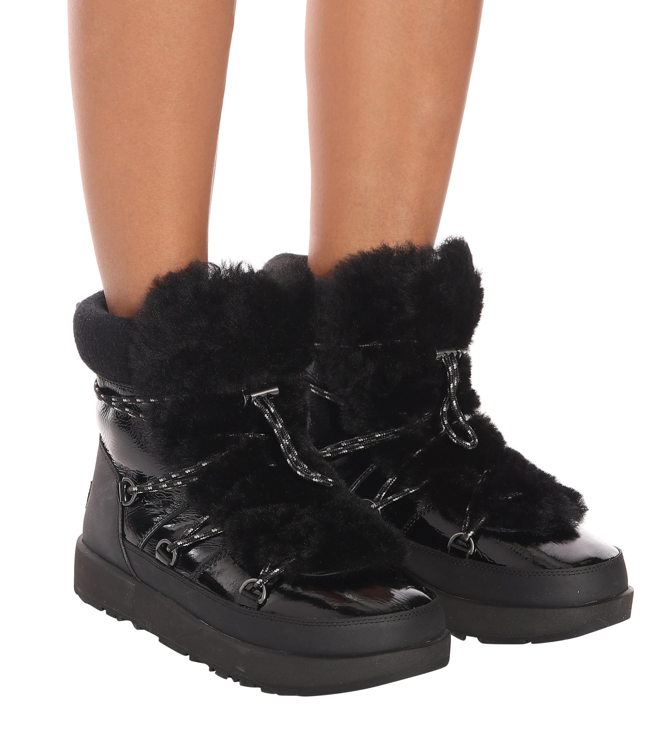 7d1f5d46827 Women's Black Highland Waterproof Ankle Boots