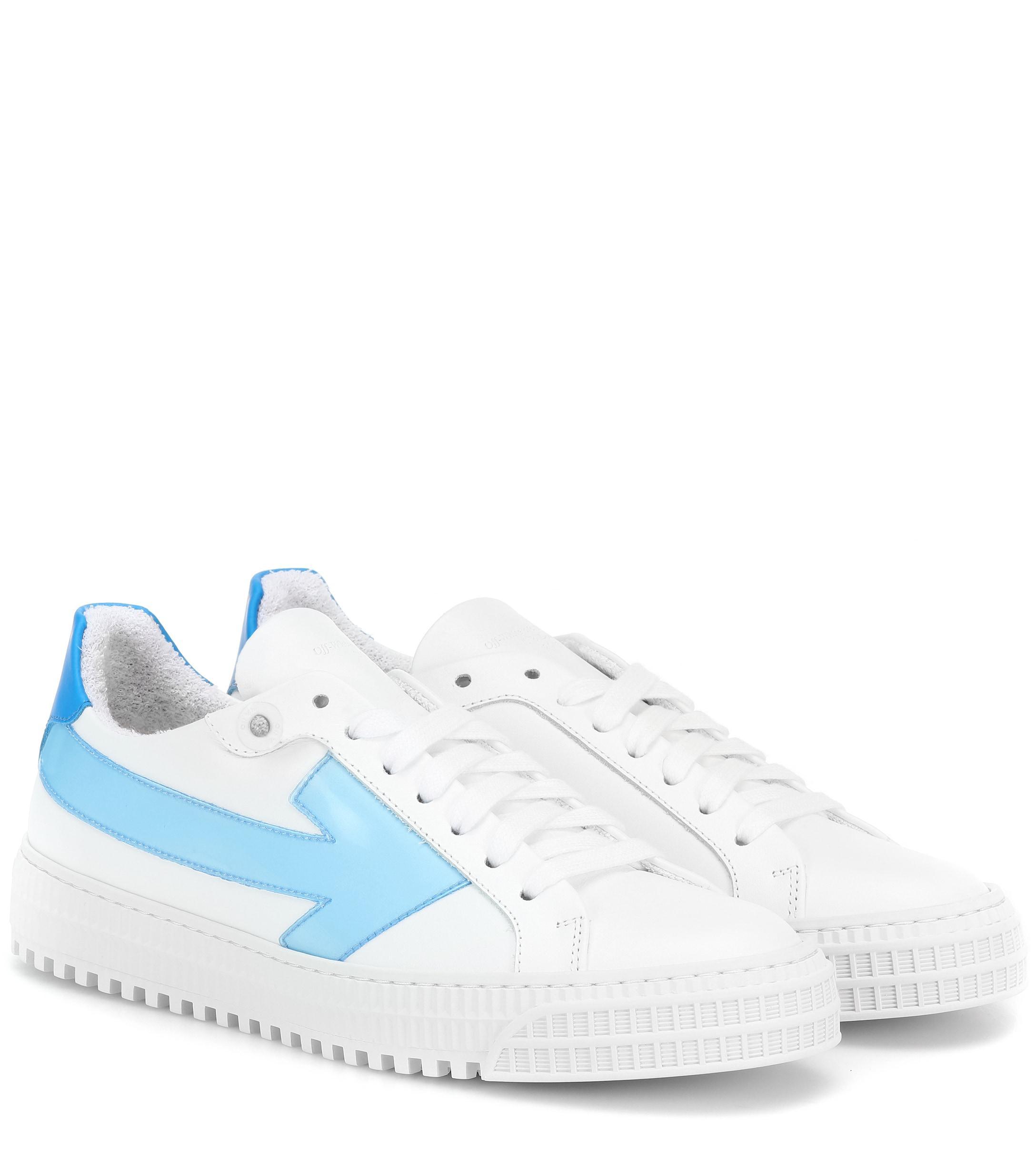 e4b6c1e0d691 Off-White c o Virgil Abloh. Women s Leather Sneakers