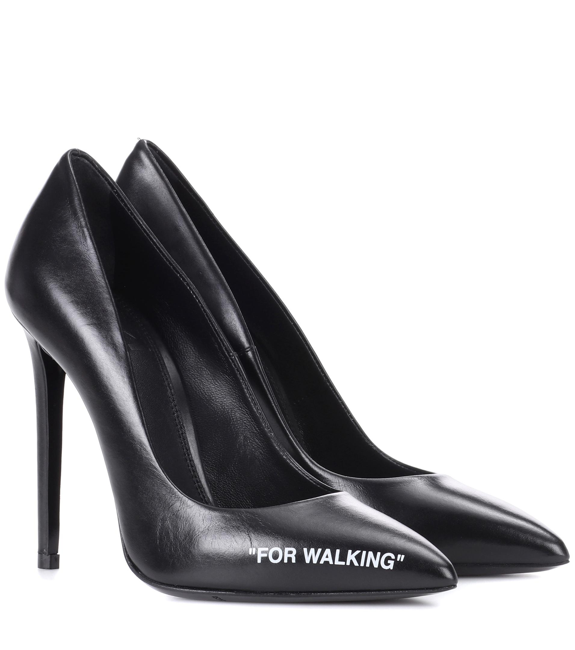Free Shipping For Cheap Black For Walking Stiletto Heels Off-white Cheap Sale In China Buy Cheap Newest Real Cheap Price Exclusive Cheap Price x7pGI