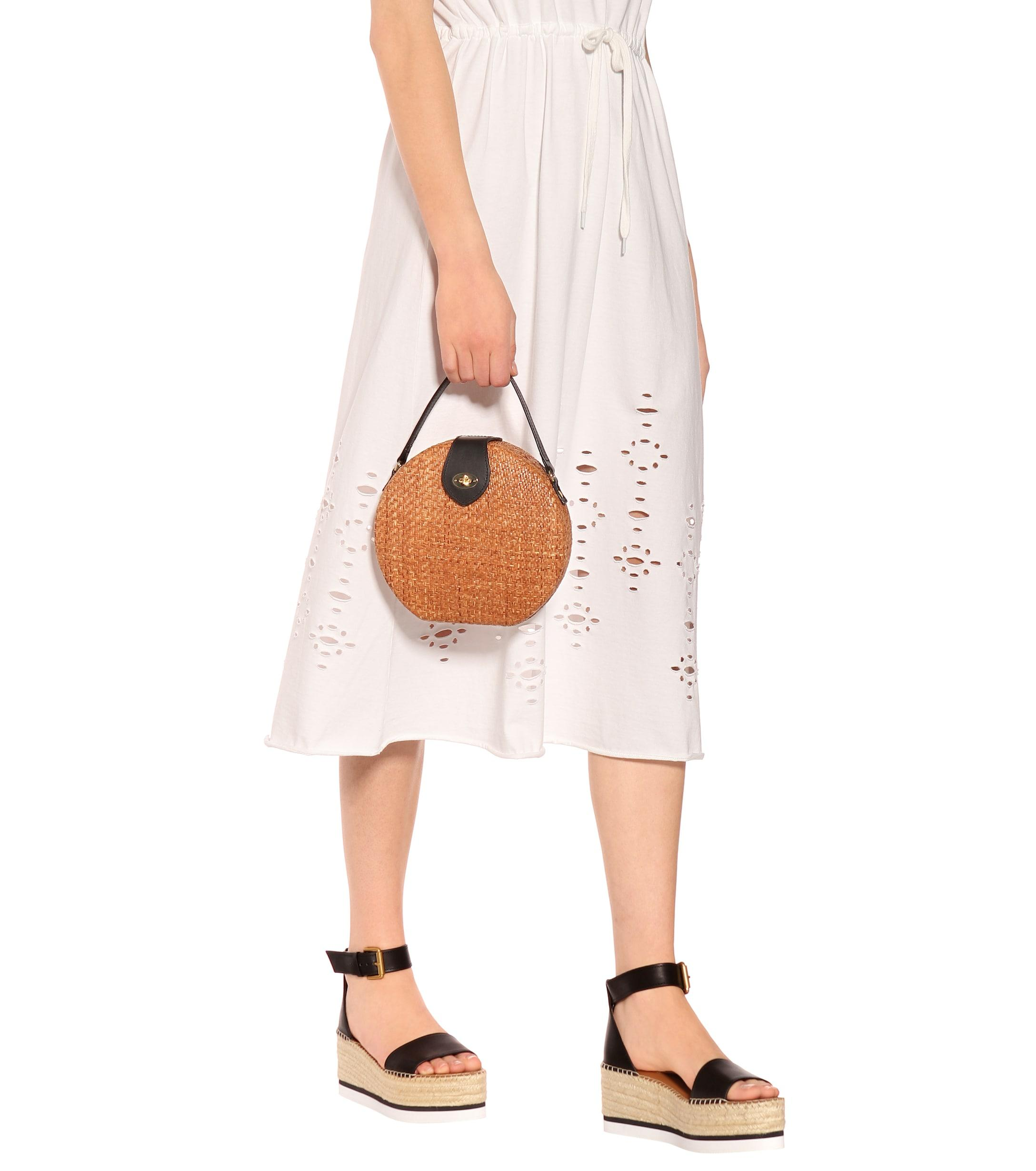 To Kayu Bag Mytheresa In – Wicker Exclusive Shoulder Lyst Brown 55qrxRg