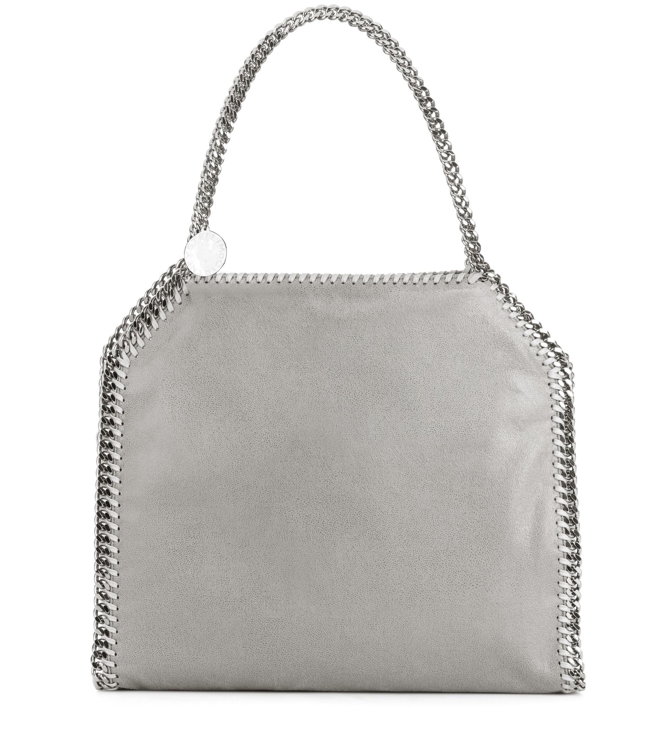 39379817e9a0 Lyst - Stella McCartney Small Falabella Shaggy Deer Shoulder Bag in Gray