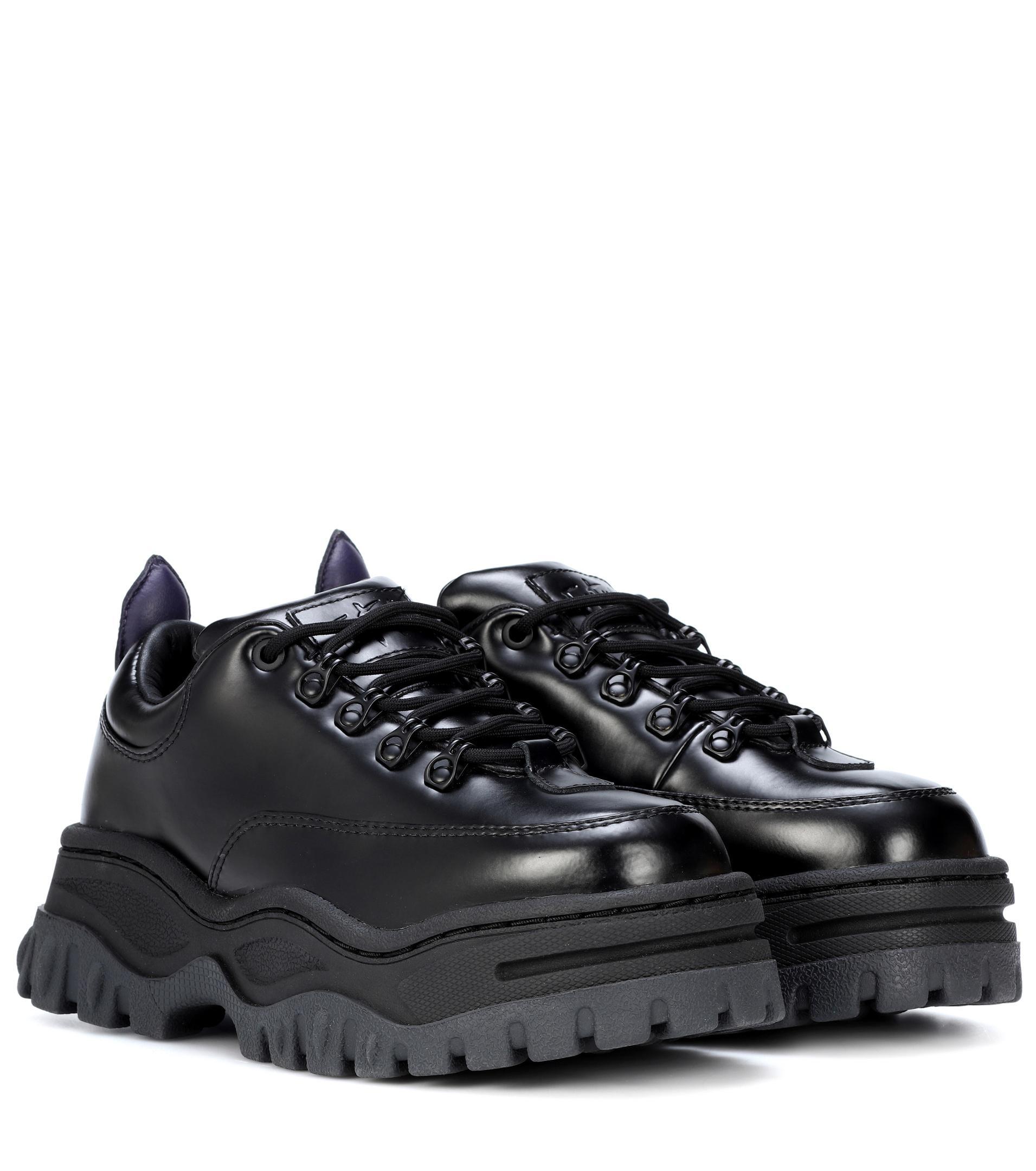 Eytys Angel Platform Leather Sneakers