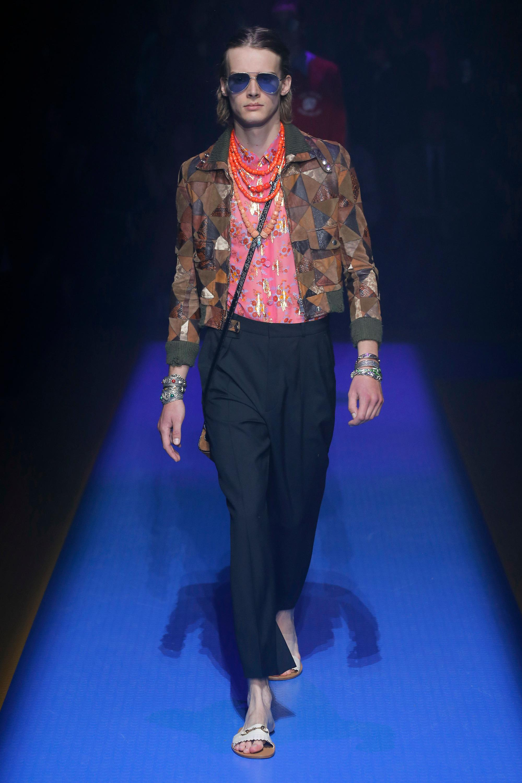 21300ca405bd Gucci - Multicolor Ophidia Mini Suede Shoulder Bag - Lyst. View fullscreen